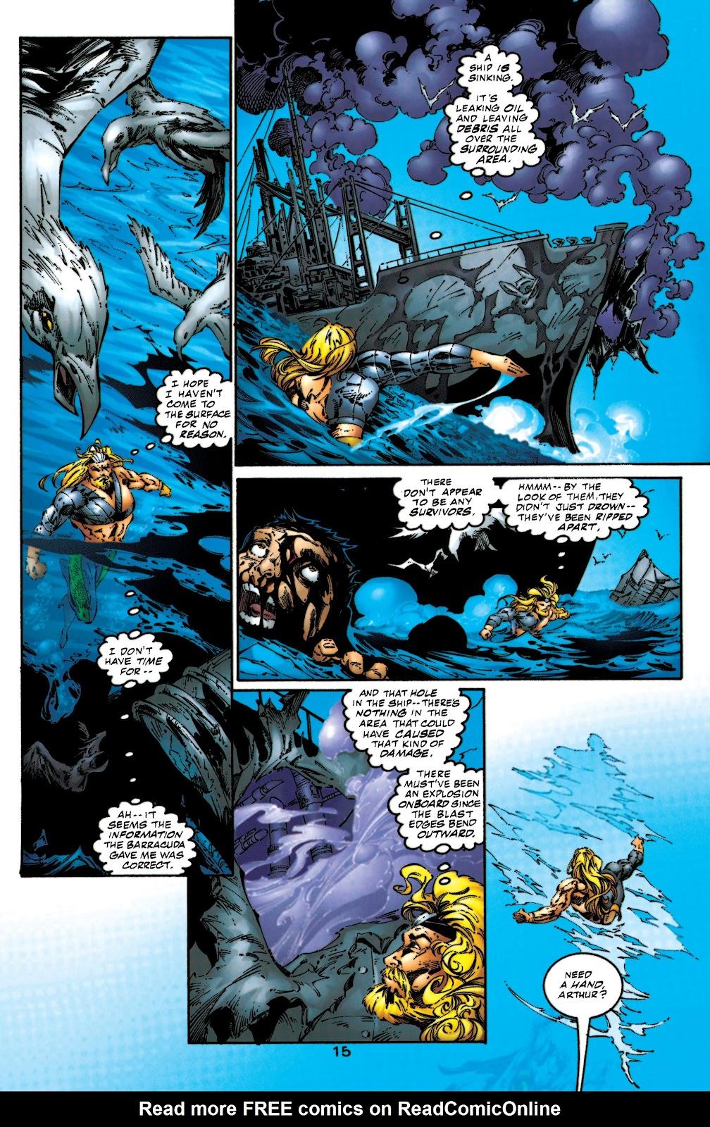 Aquaman (1994) Issue #53 #59 - English 16