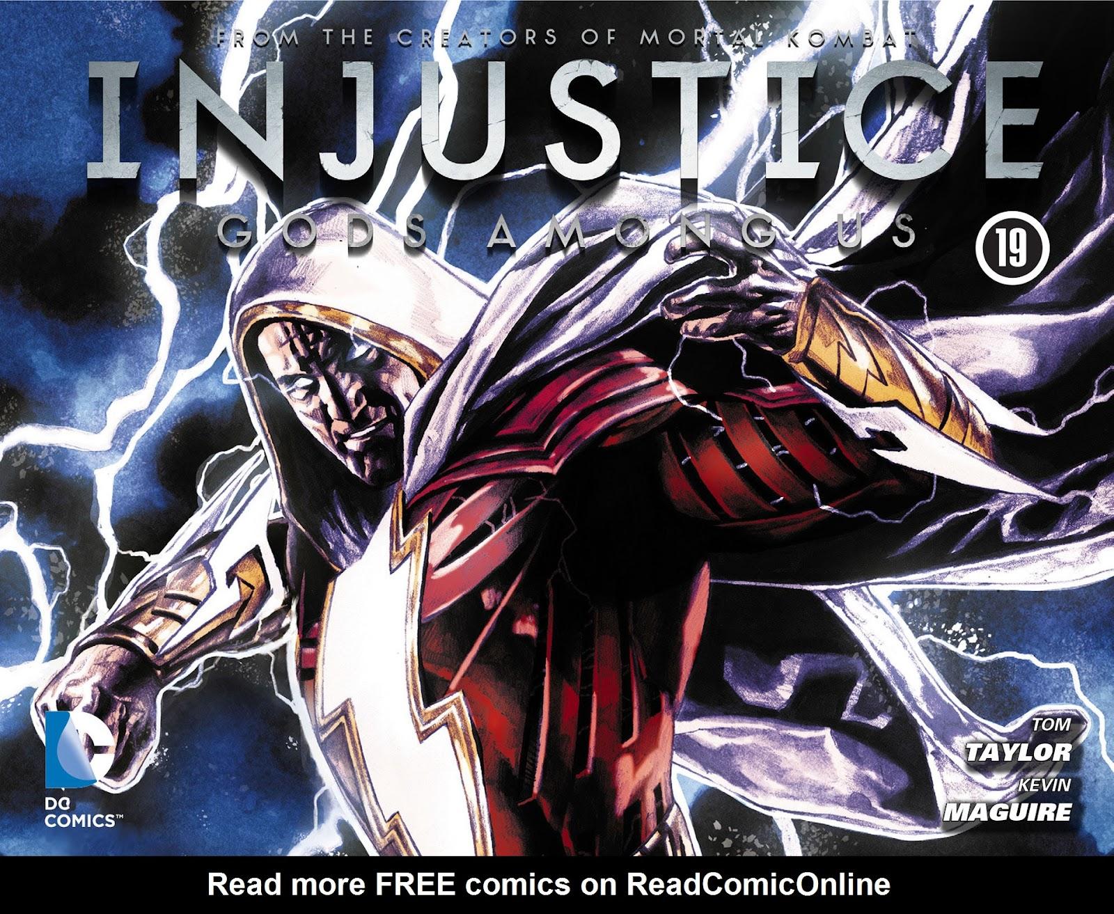 Injustice: Gods Among Us [I] Issue #19 #20 - English 1