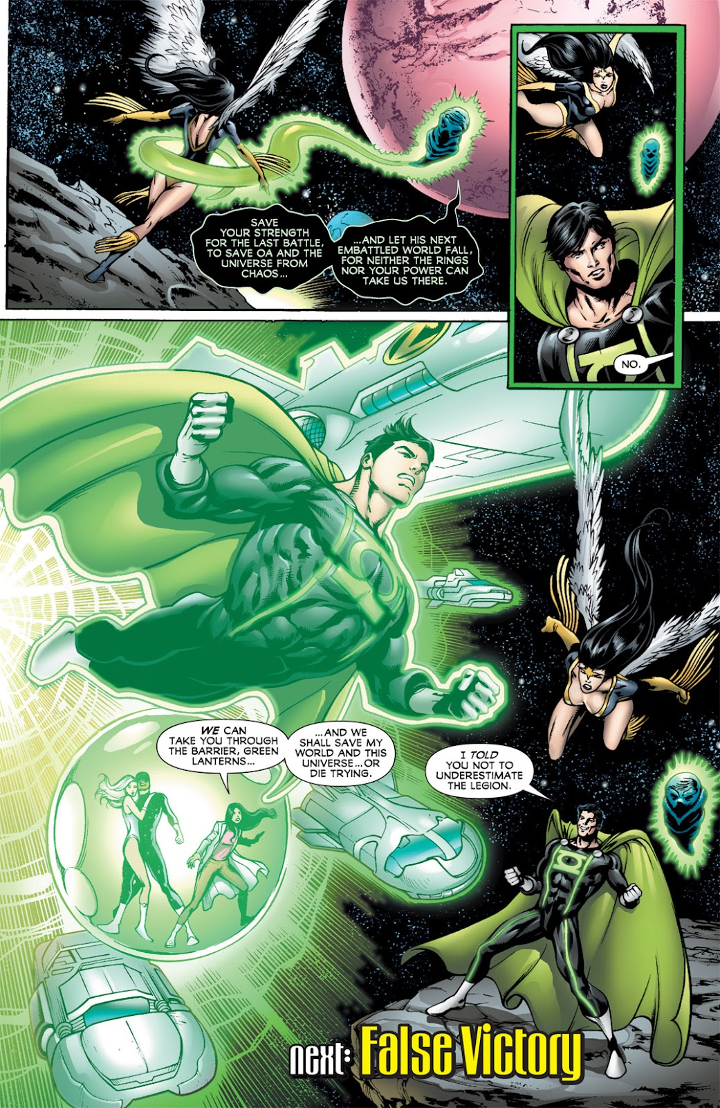 Legion of Super-Heroes (2010) Issue #14 #15 - English 21