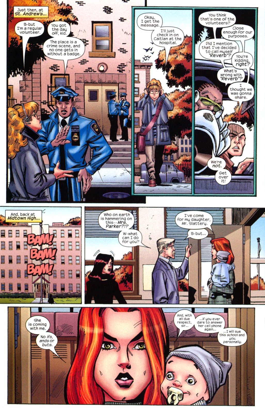 Amazing Spider-Girl Issue #2 #3 - English 16