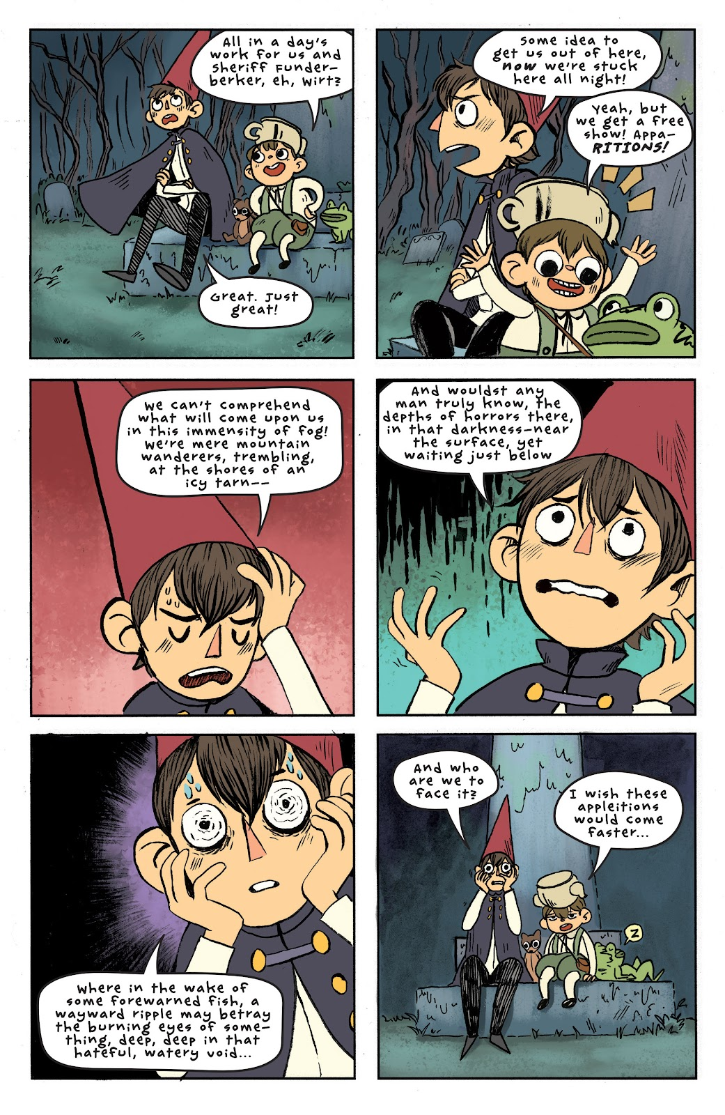 Over the Garden Wall (2016) Issue #6 #6 - English 16