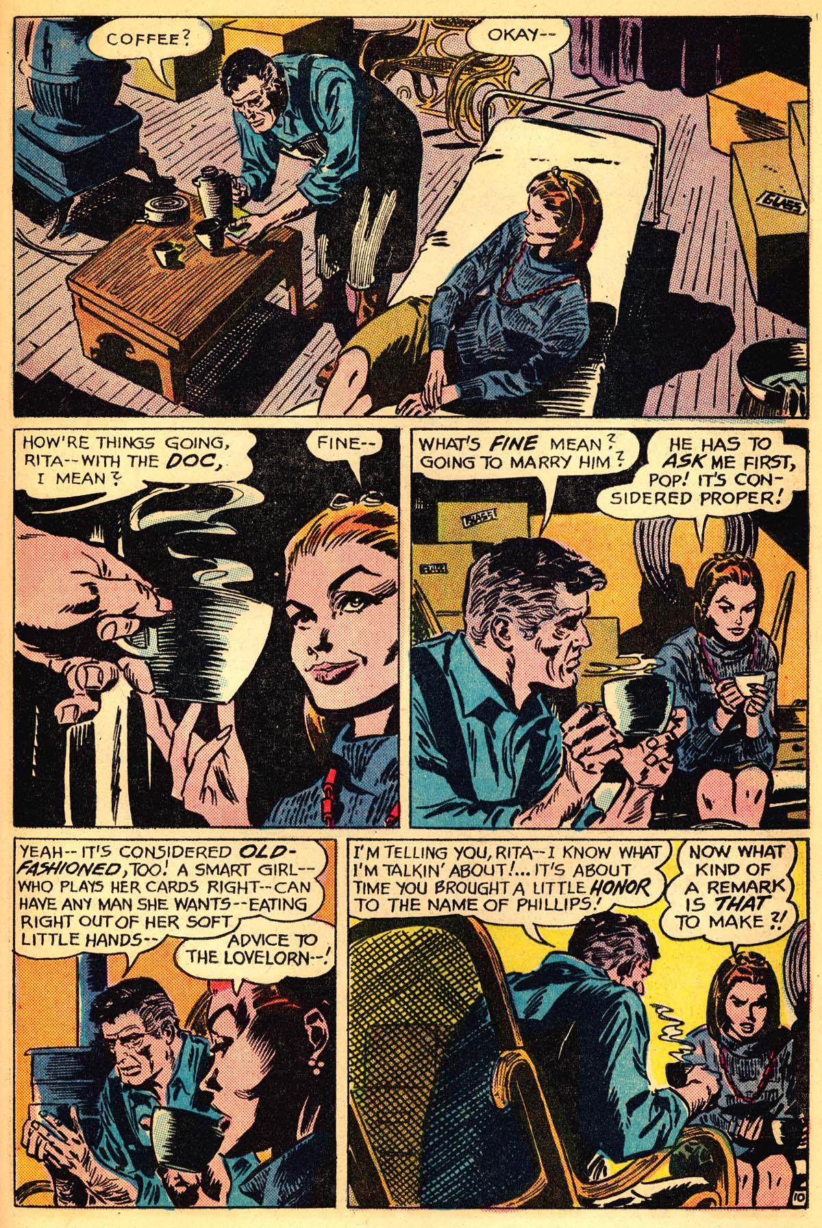 Read online Secret Hearts comic -  Issue #111 - 29