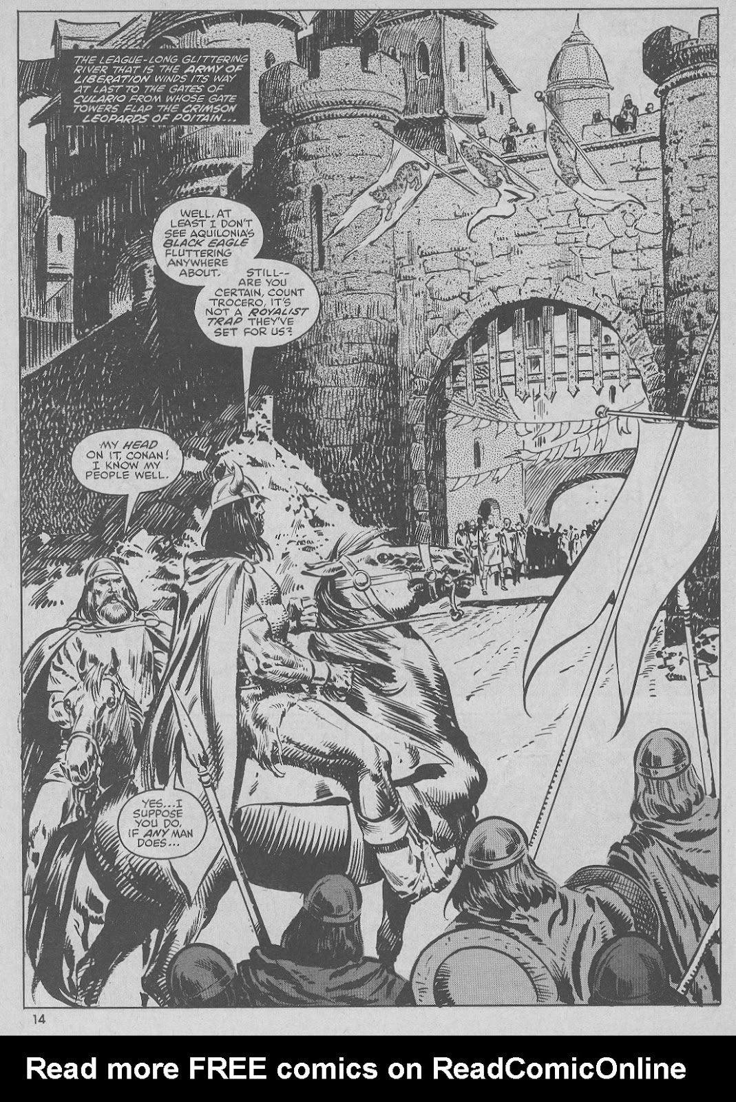 The Savage Sword Of Conan Issue #51 #52 - English 14