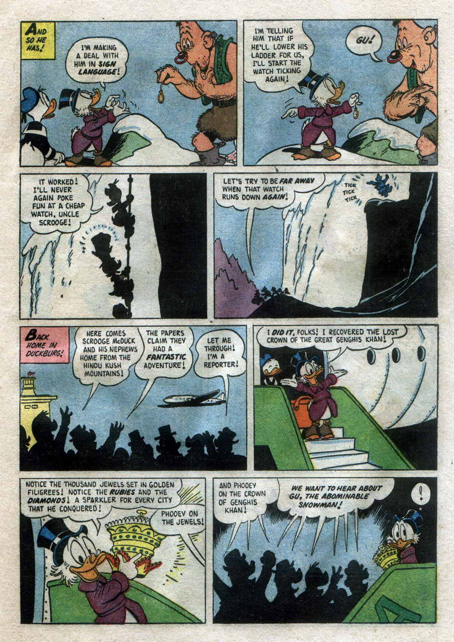 Uncle Scrooge (1953) Issue #14 #14 - English 21