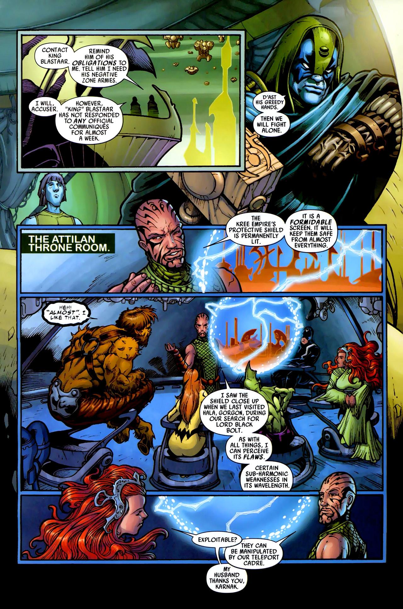 Read online Secret Invasion: War of Kings comic -  Issue # Full - 25