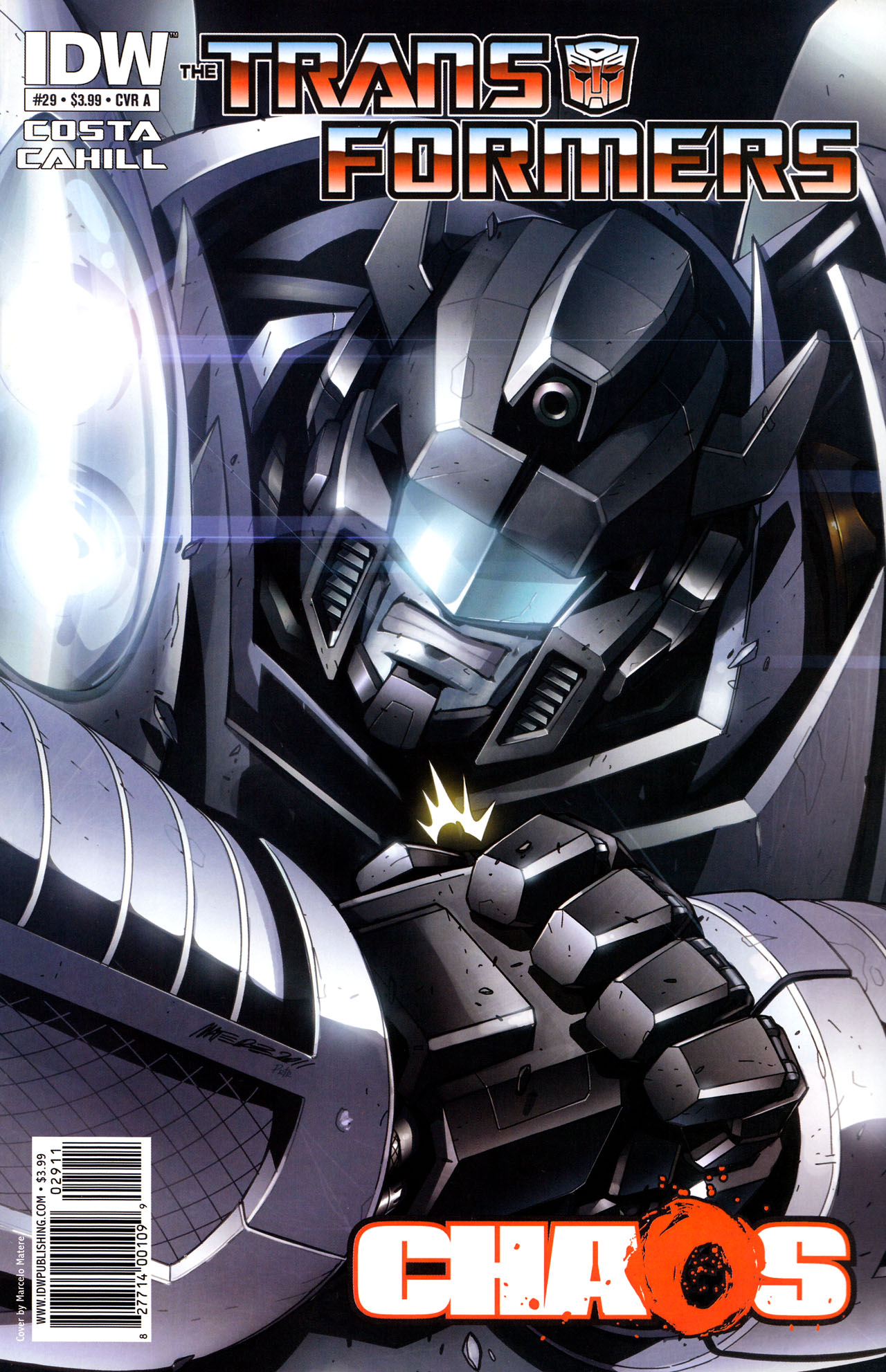 Read online The Transformers (2009) comic -  Issue #29 - 1