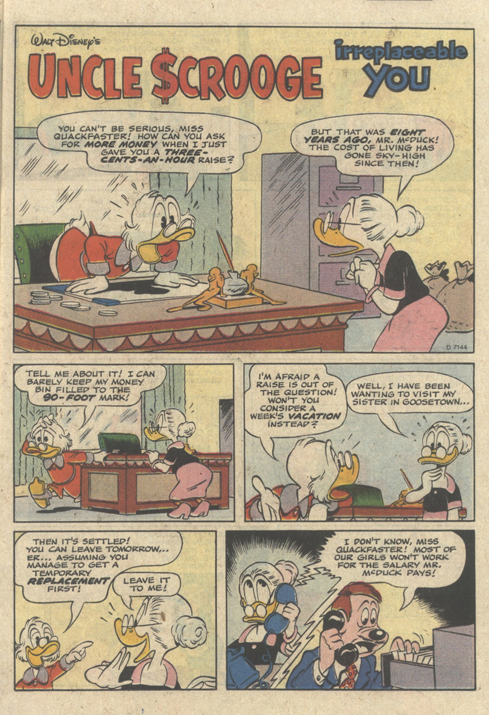Uncle Scrooge (1953) Issue #235 #235 - English 15