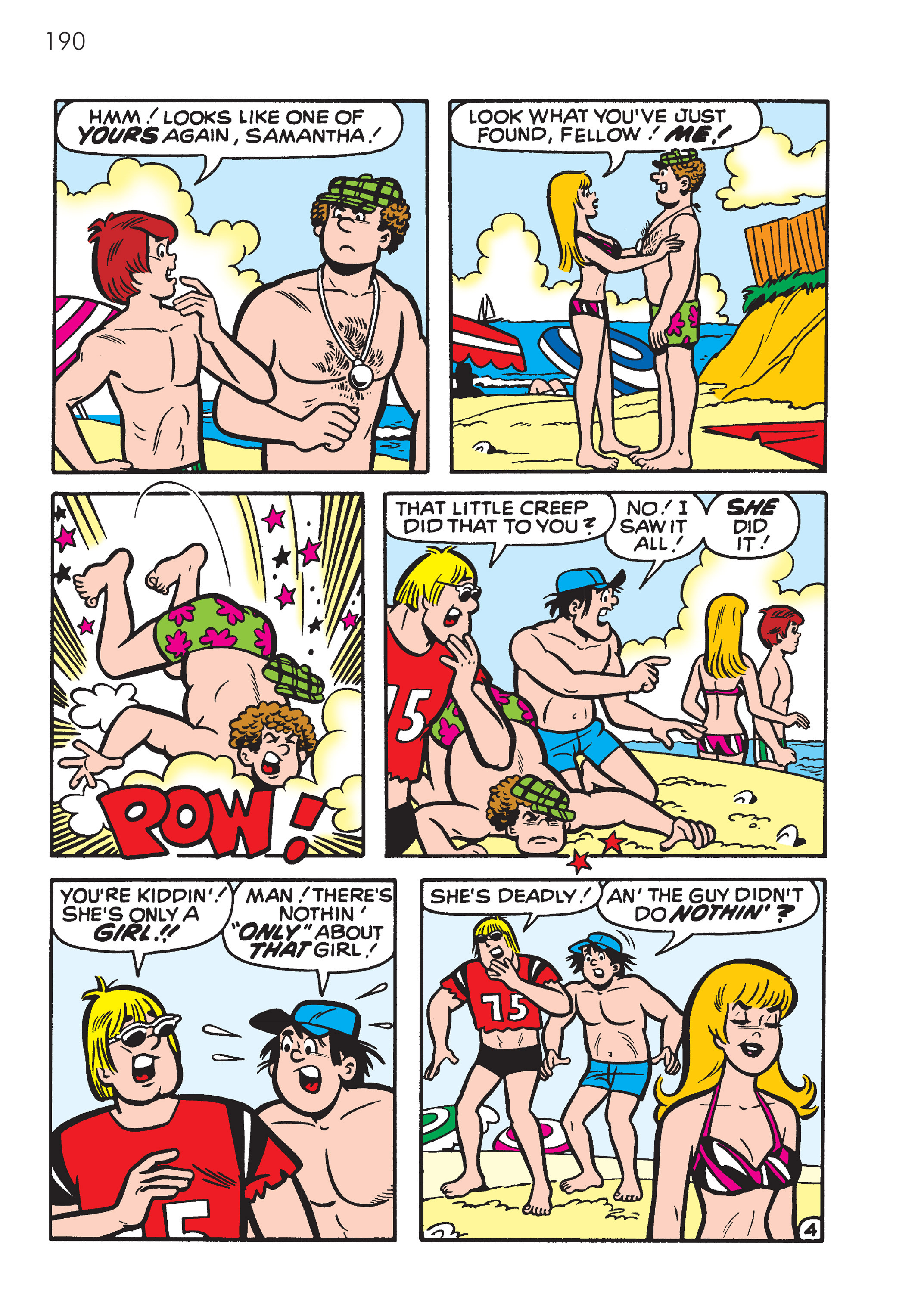 Read online The Best of Archie Comics comic -  Issue # TPB 4 (Part 1) - 191