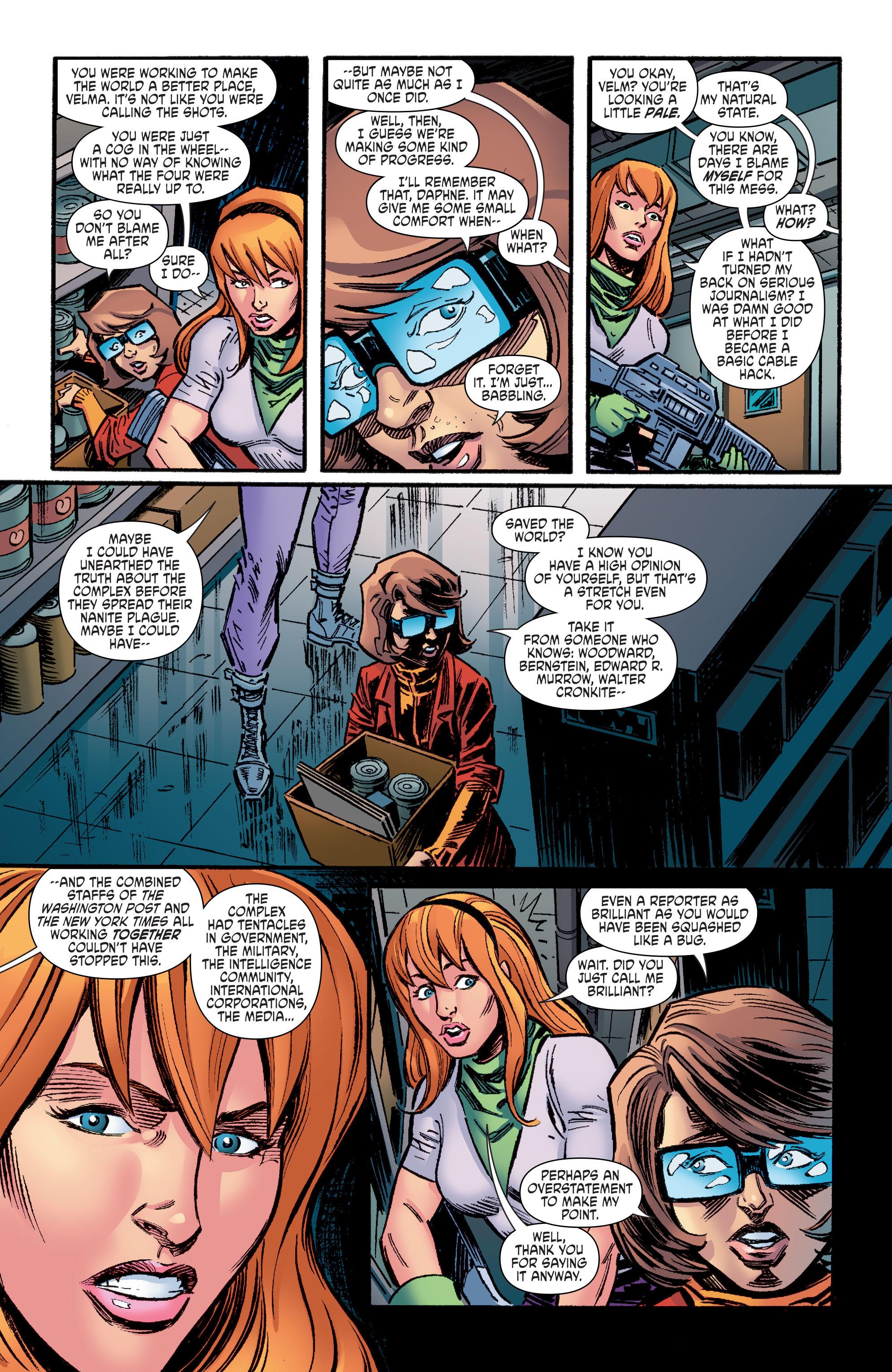 Read online Scooby Apocalypse comic -  Issue #9 - 12