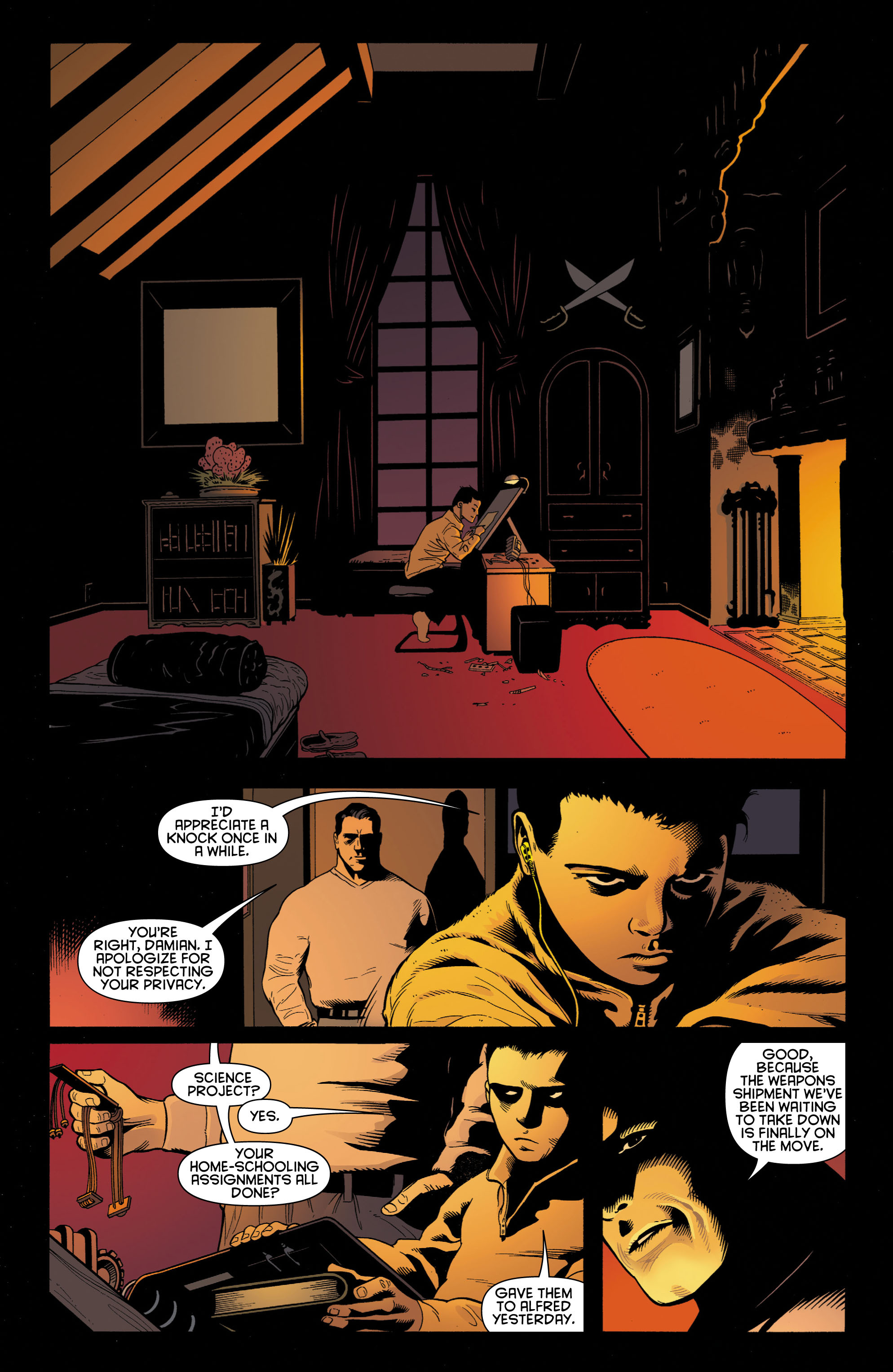 Batman and Robin (2011) chap 1 pic 31