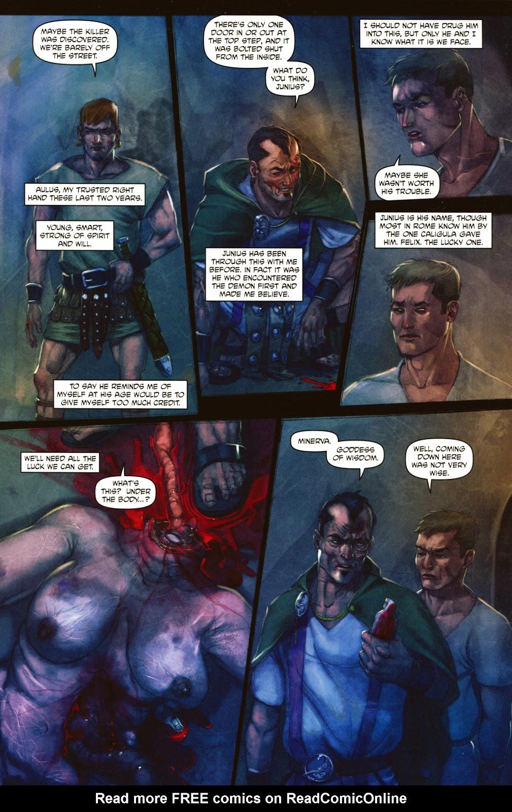 Caligula: Heart of Rome Issue #2 #2 - English 9