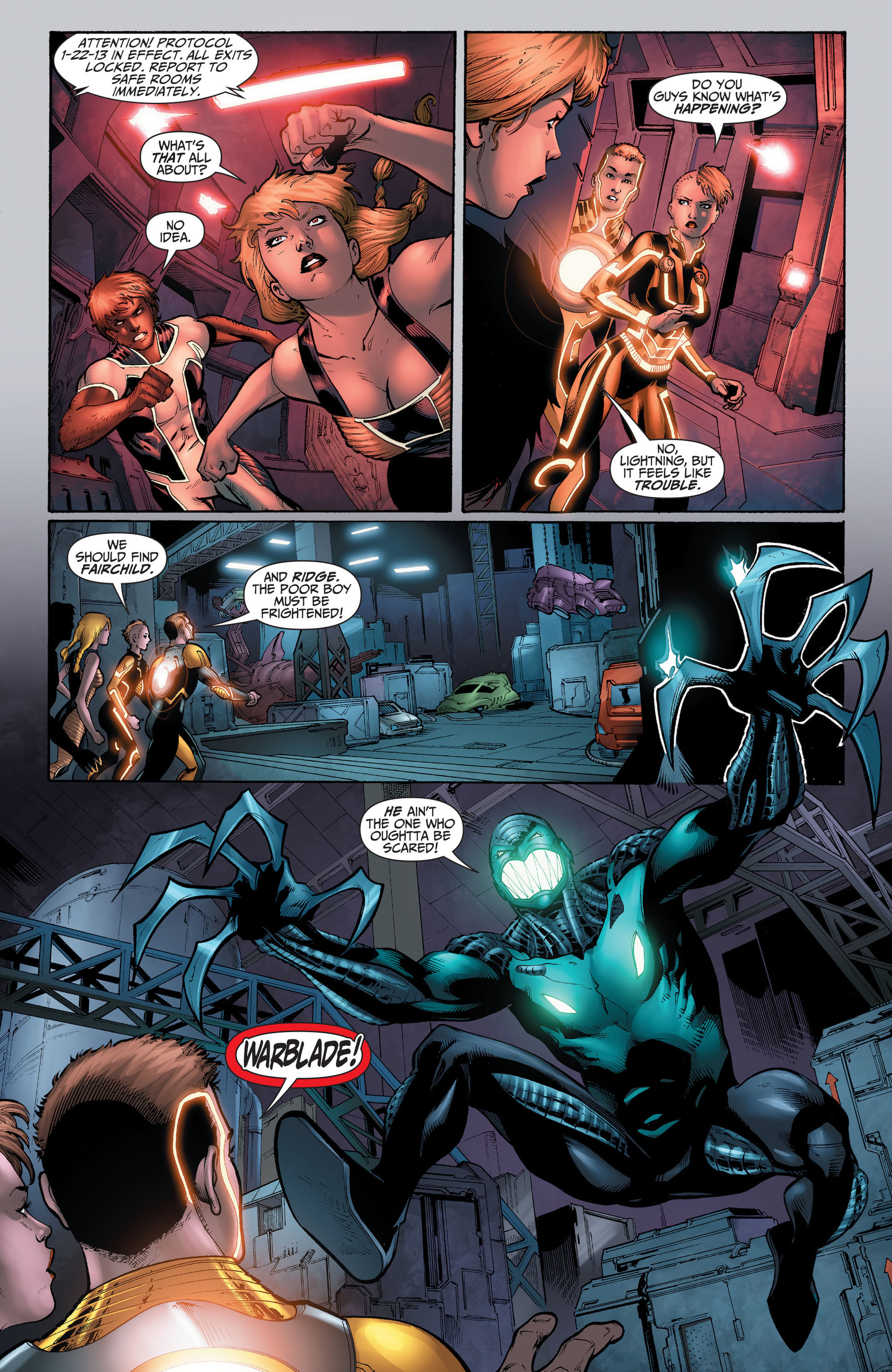 Read online The Ravagers comic -  Issue #11 - 7