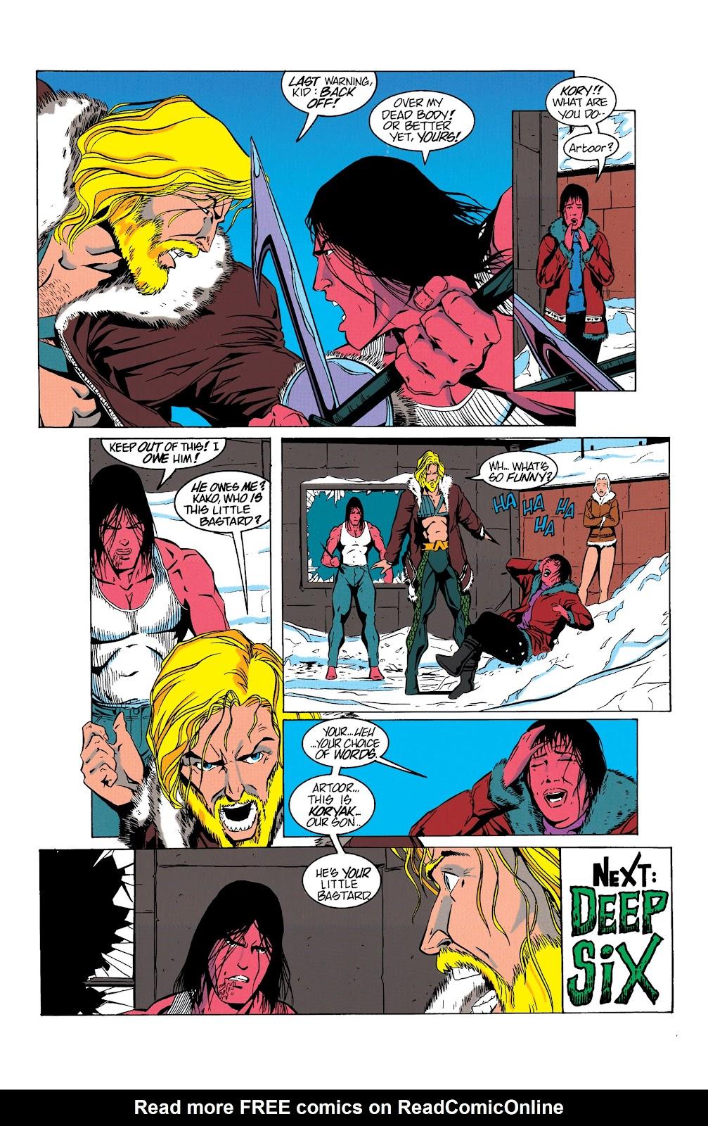 Aquaman (1994) Issue #5 #11 - English 23