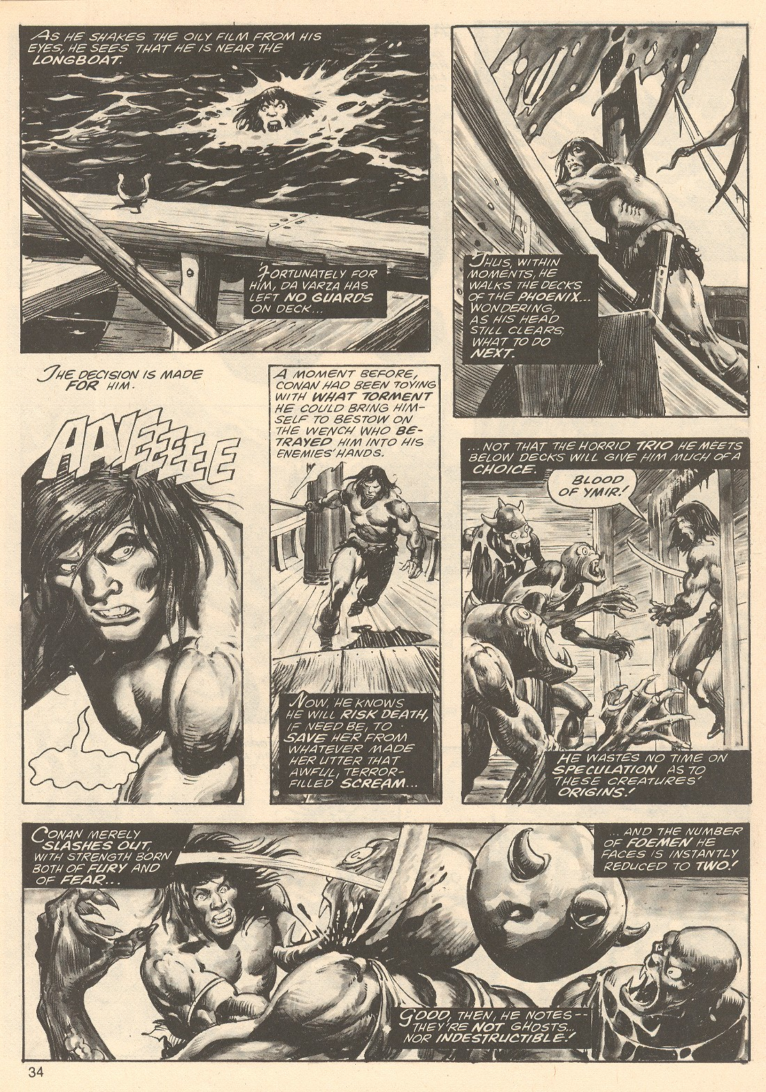 The Savage Sword Of Conan Issue #67 #68 - English 34