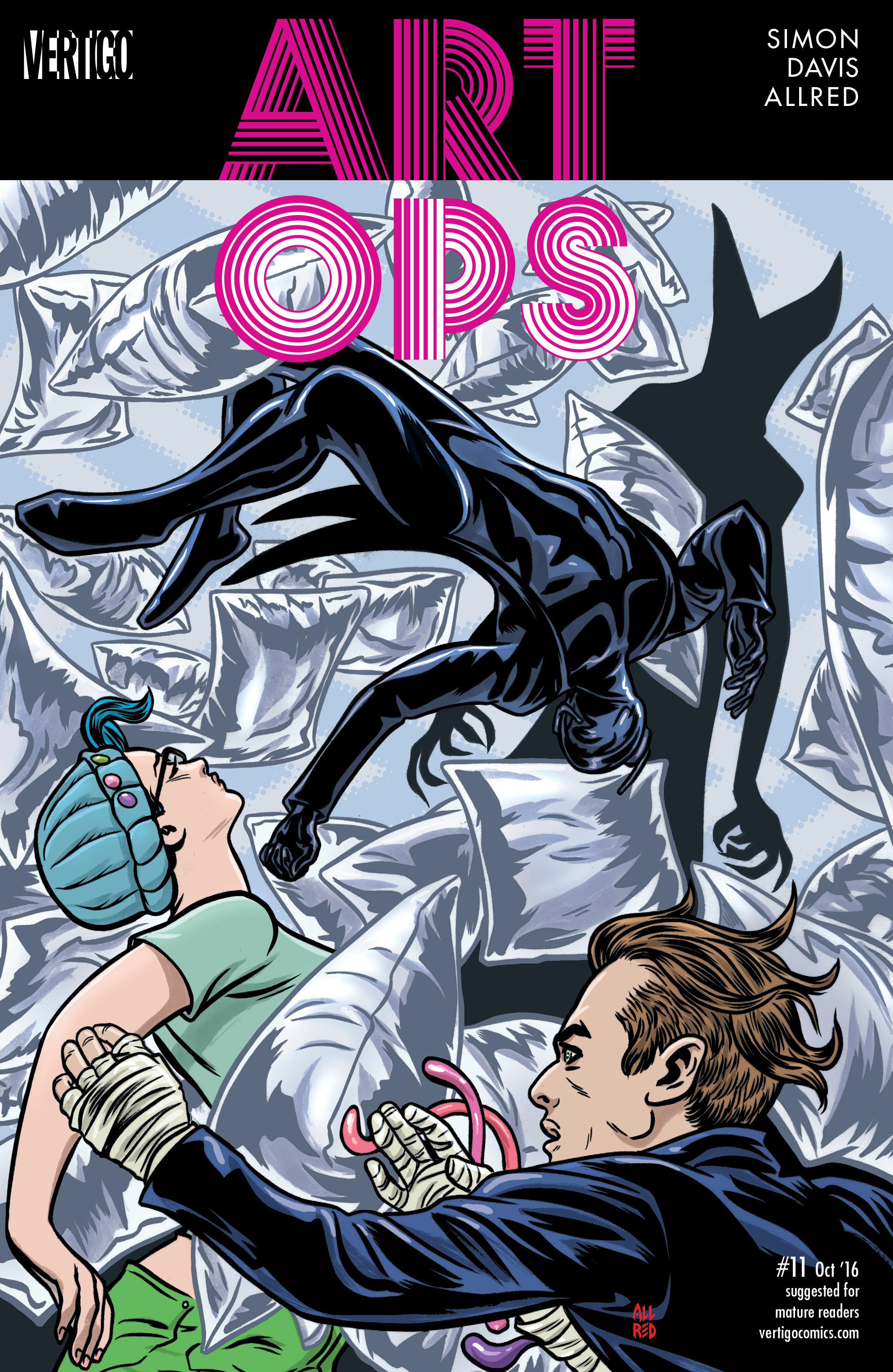 Read online Art Ops comic -  Issue #11 - 1
