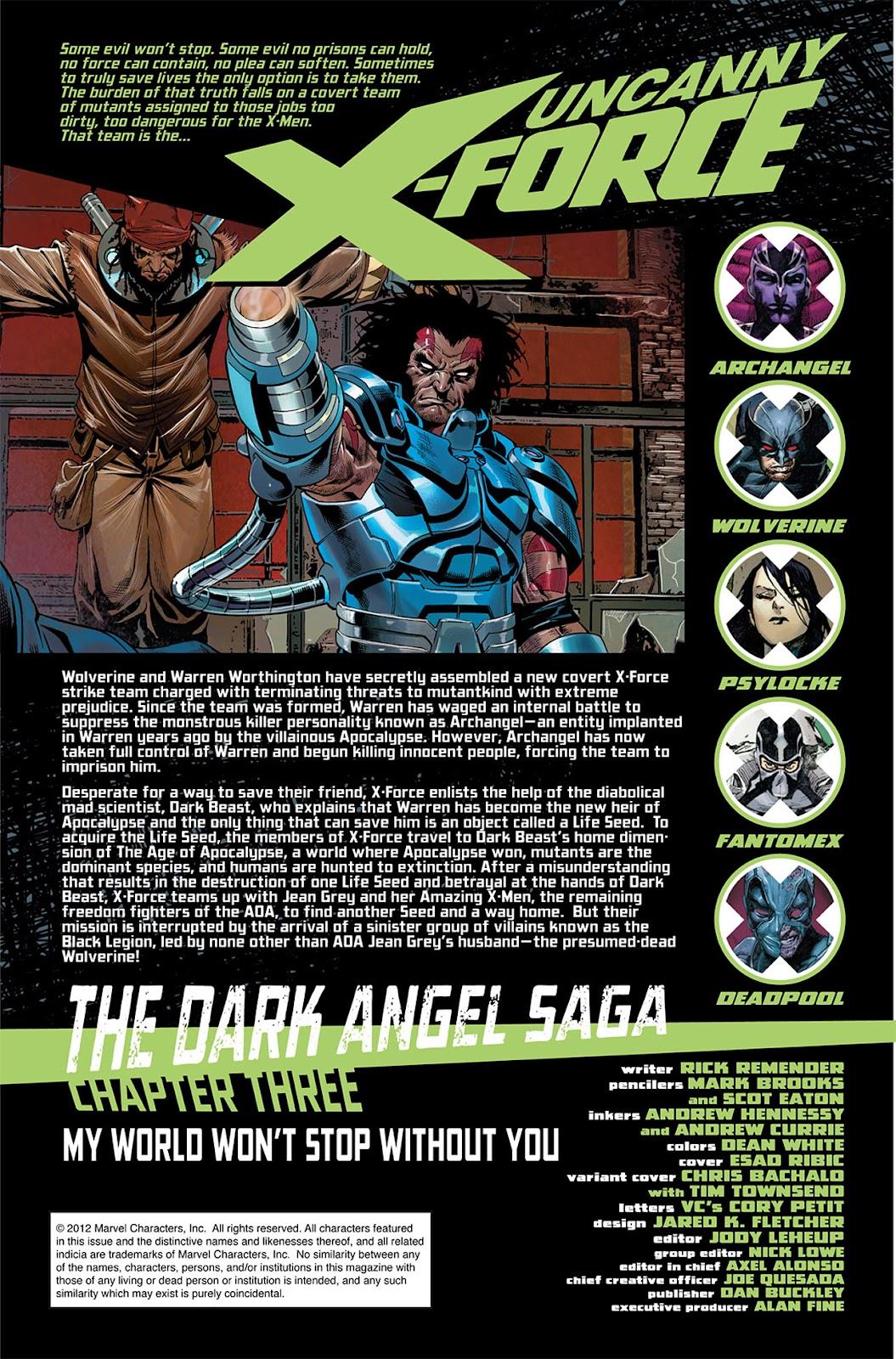 Uncanny X-Force (2010) Issue #13 #14 - English 2