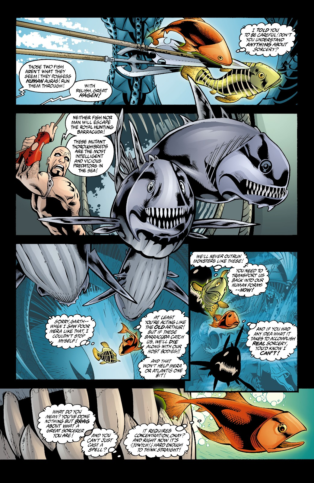 Aquaman (2003) Issue #4 #4 - English 15