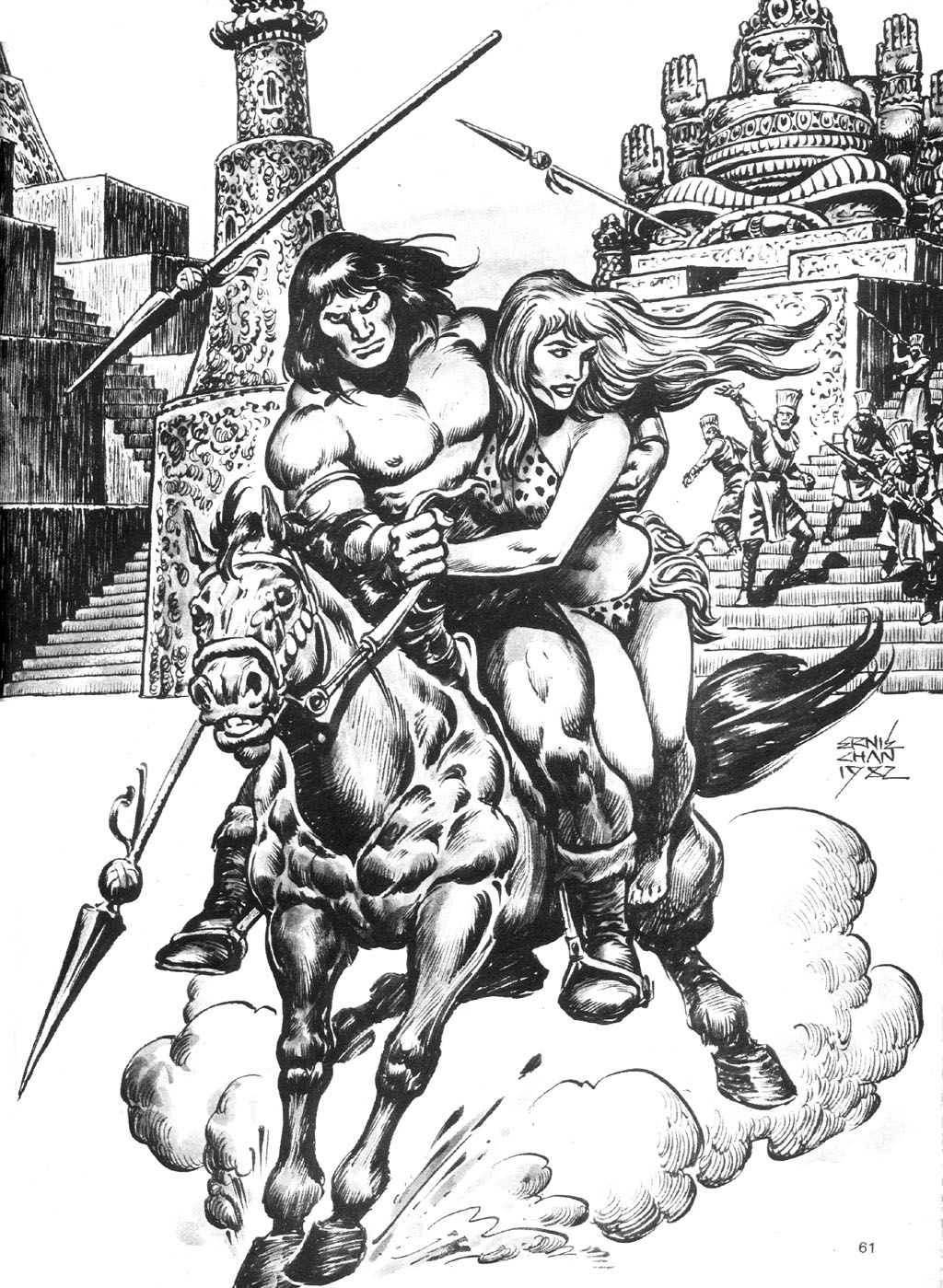 The Savage Sword Of Conan Issue #87 #88 - English 61