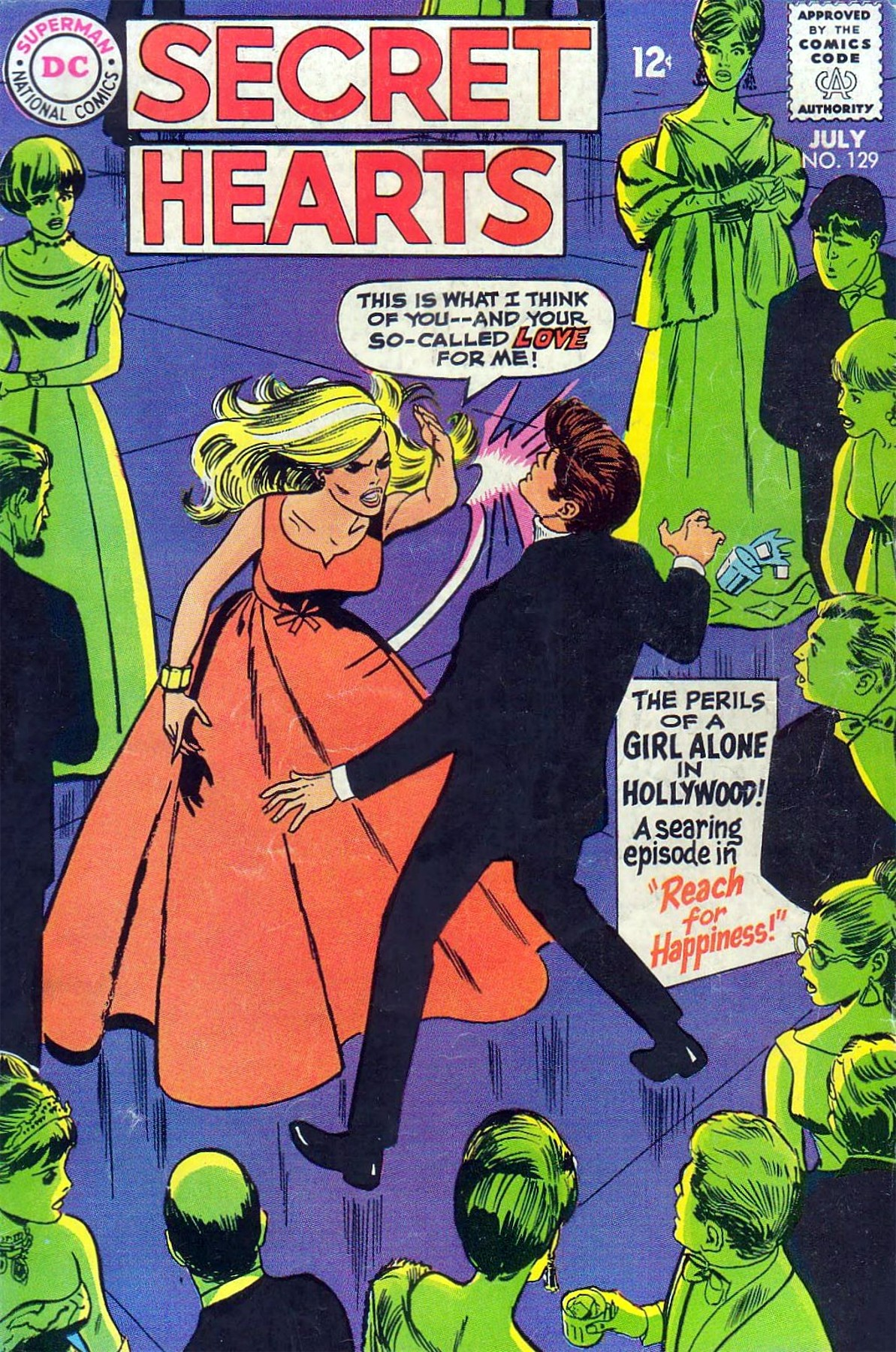 Read online Secret Hearts comic -  Issue #129 - 1