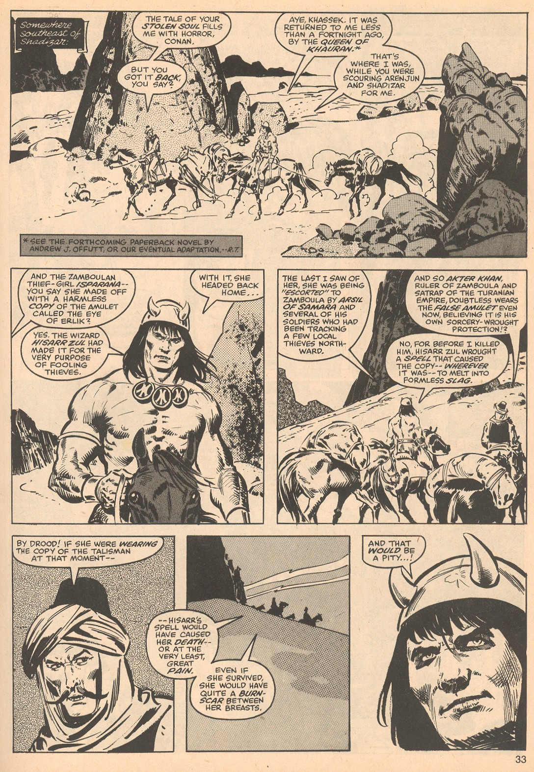 The Savage Sword Of Conan Issue #56 #57 - English 33