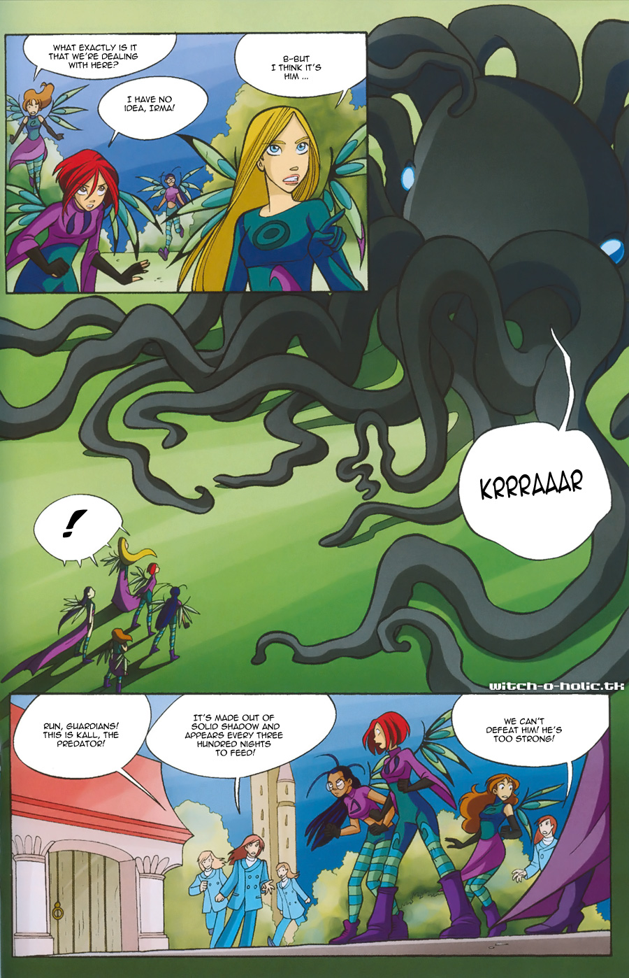 Read online W.i.t.c.h. comic -  Issue #135 - 23
