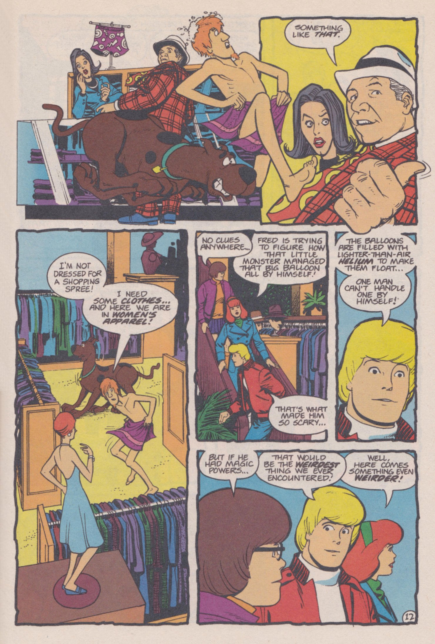 Read online Scooby-Doo (1995) comic -  Issue #14 - 13