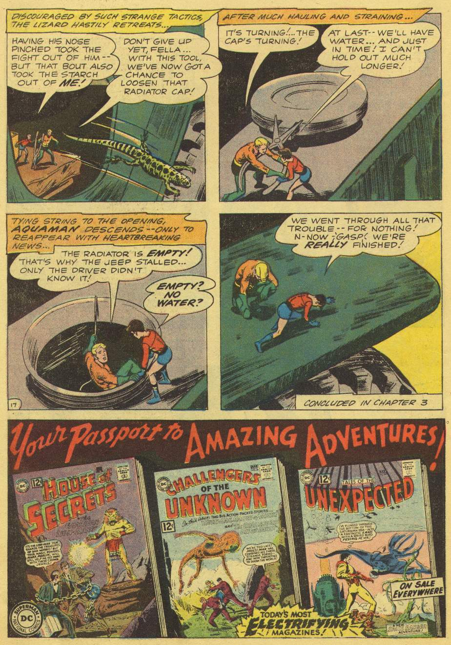 Read online Aquaman (1962) comic -  Issue #1 - 22