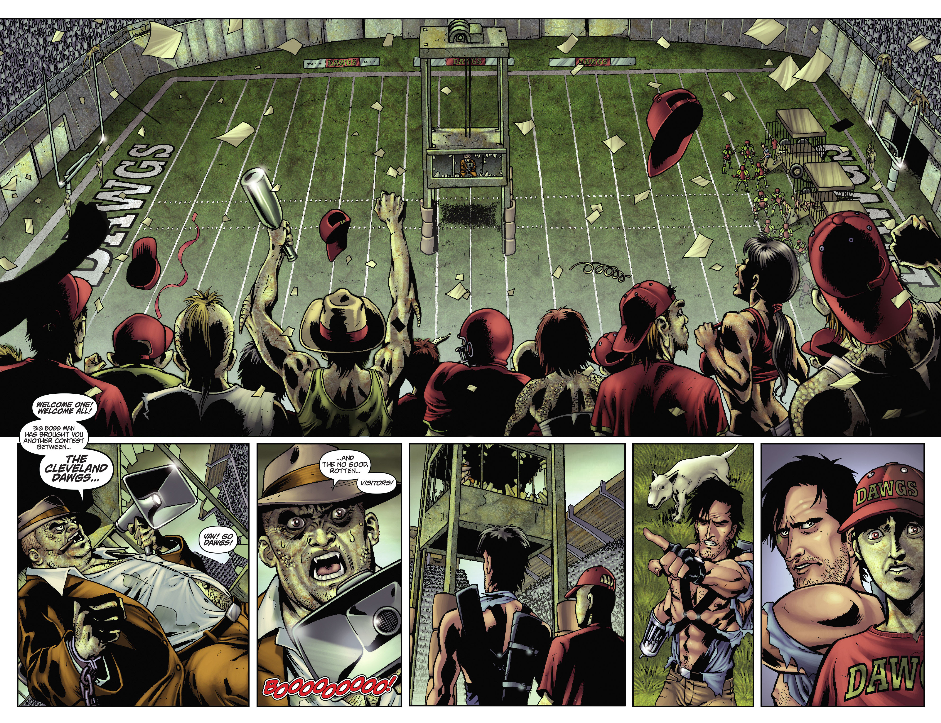 Army of Darkness: The Long Road Home TPB Page 47