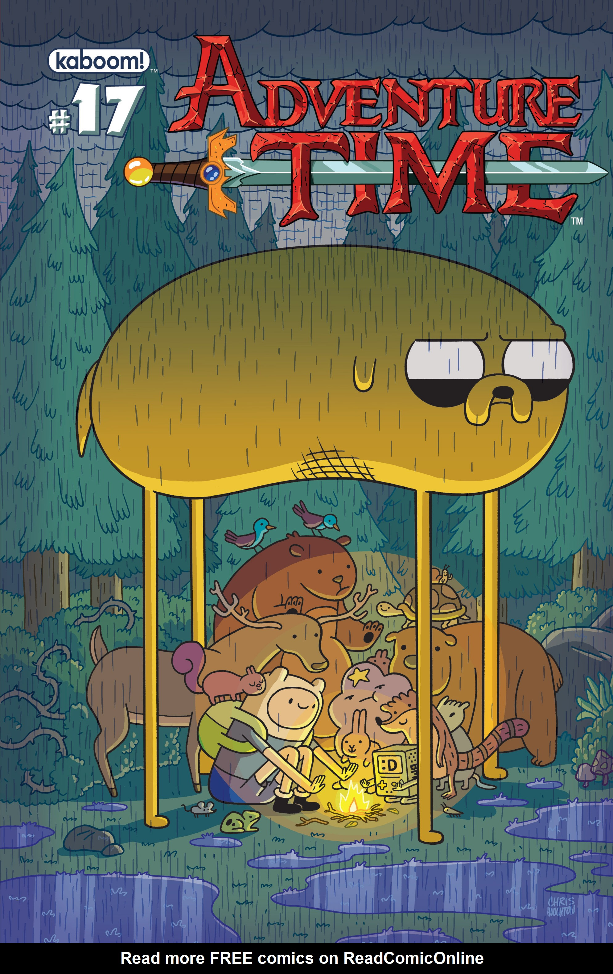 Adventure Time 17 Page 1
