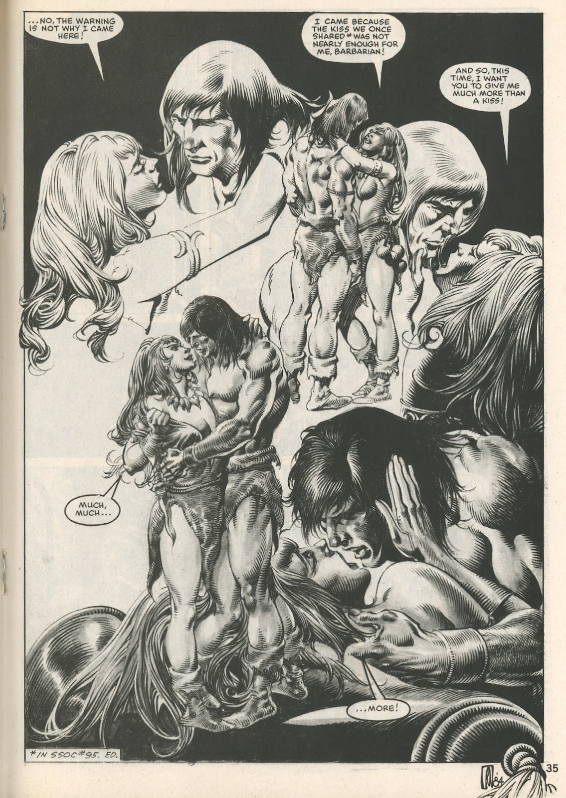 The Savage Sword Of Conan Issue #107 #108 - English 35