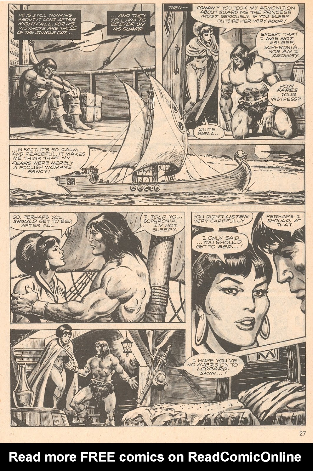The Savage Sword Of Conan Issue #66 #67 - English 27