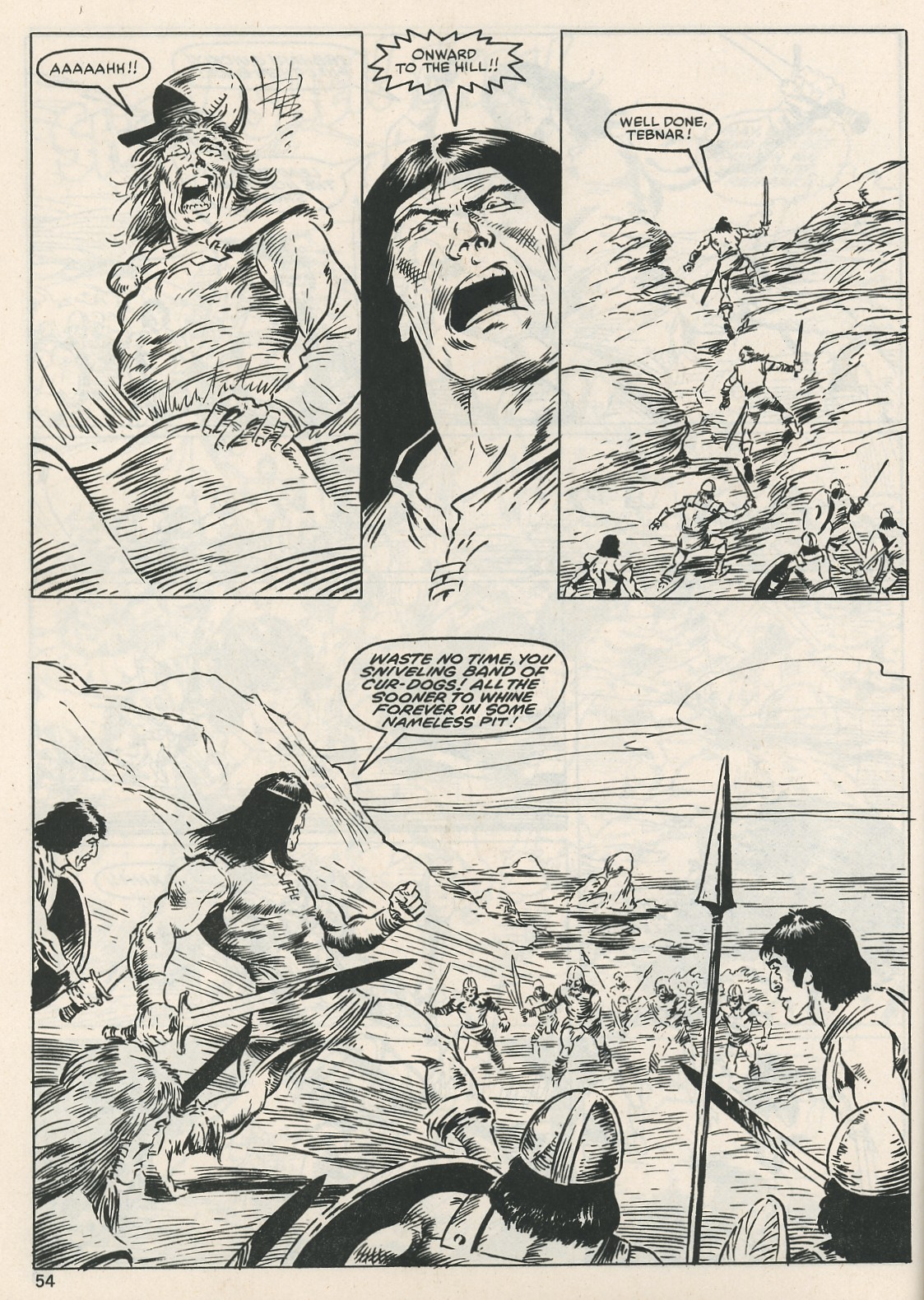 The Savage Sword Of Conan Issue #115 #116 - English 54