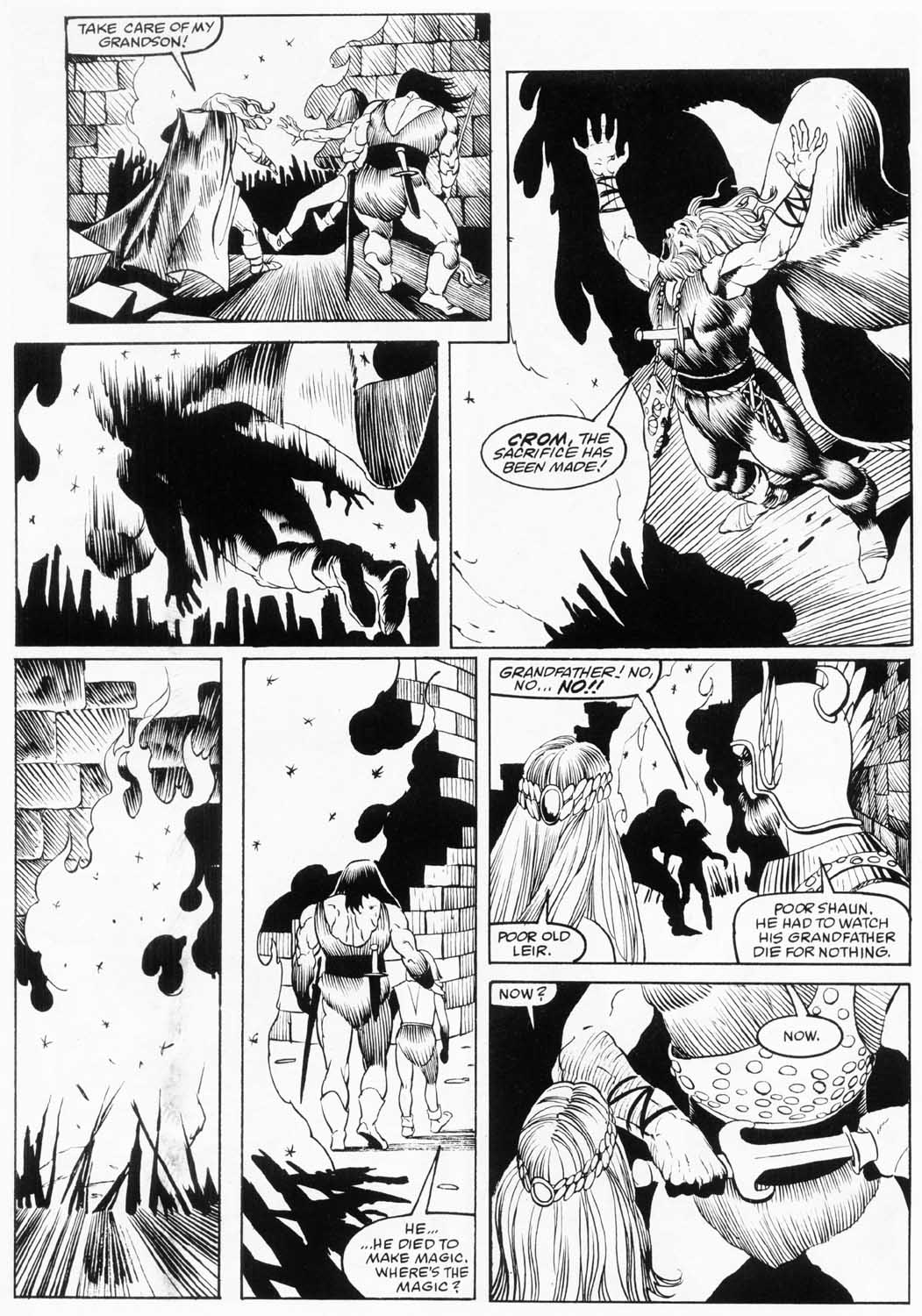 The Savage Sword Of Conan Issue #157 #158 - English 48