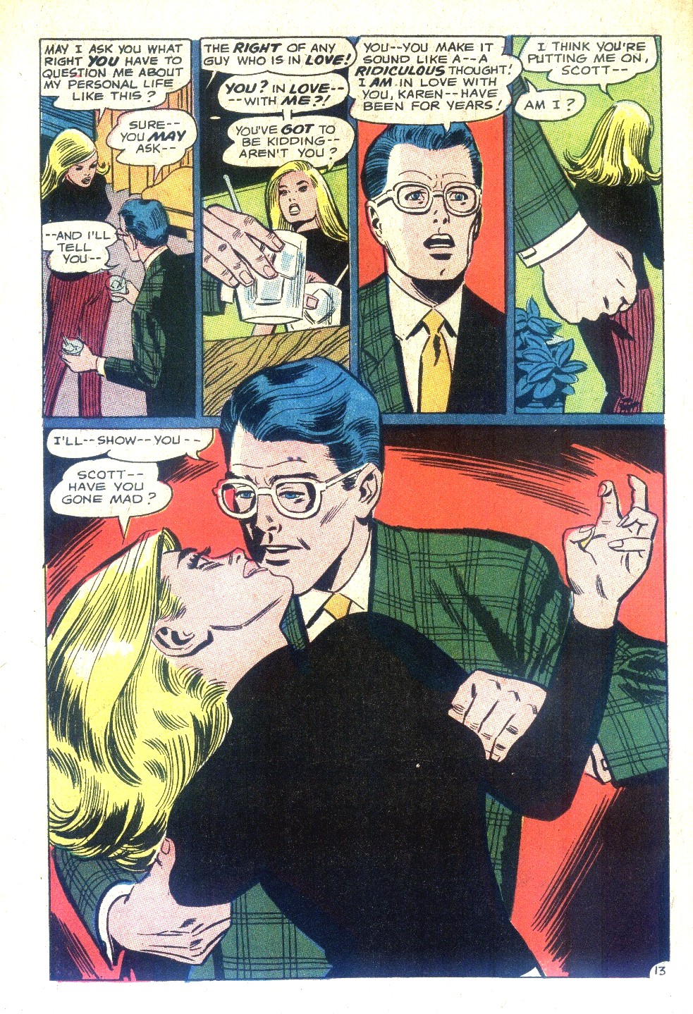 Read online Secret Hearts comic -  Issue #128 - 30