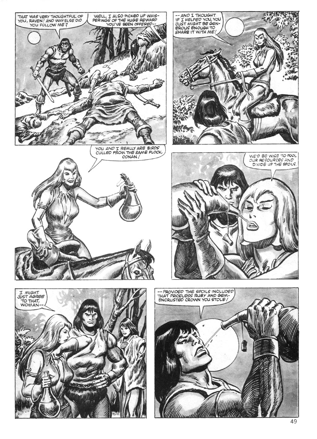 The Savage Sword Of Conan Issue #95 #96 - English 49