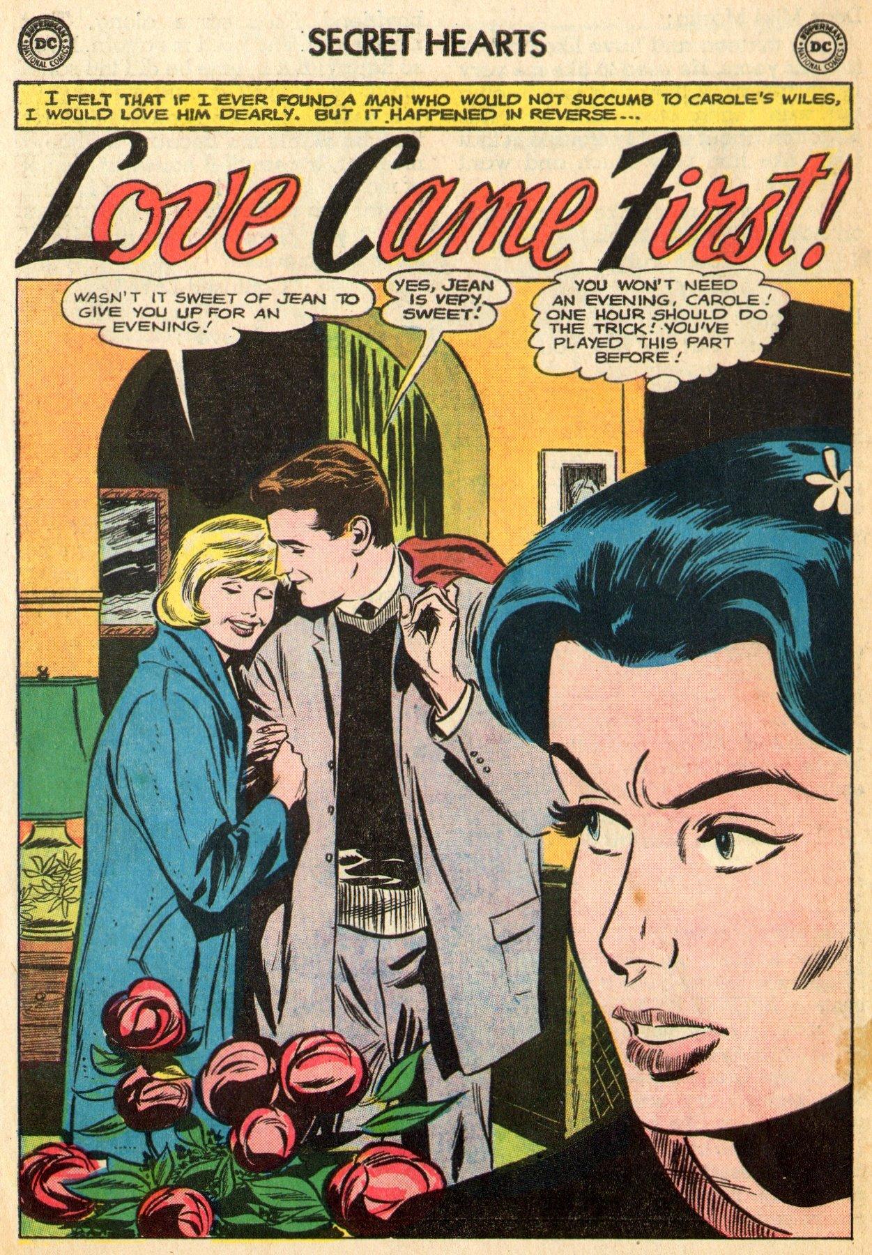 Read online Secret Hearts comic -  Issue #96 - 14