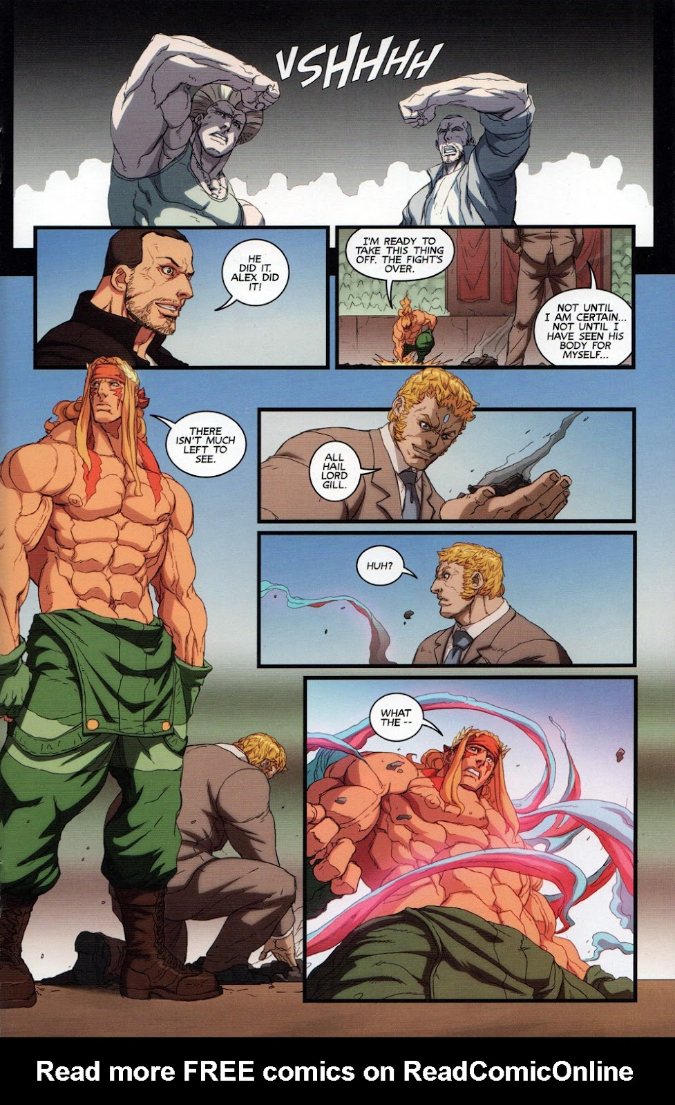 Street Fighter Unlimited Issue #10 #12 - English 17