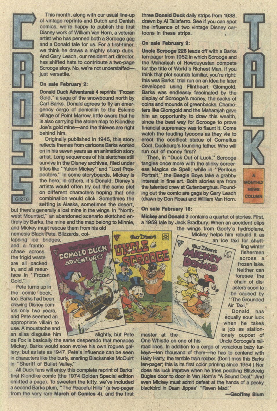 Uncle Scrooge (1953) Issue #226 #226 - English 27