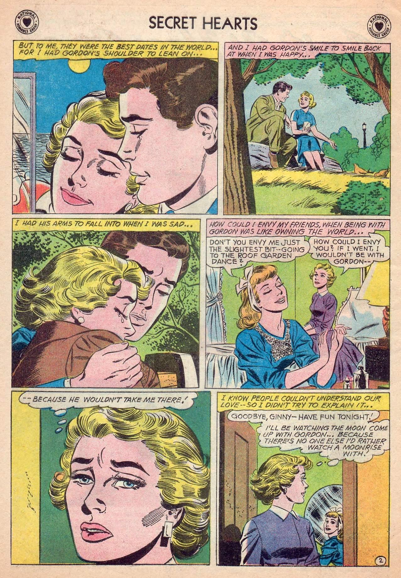 Read online Secret Hearts comic -  Issue #63 - 4