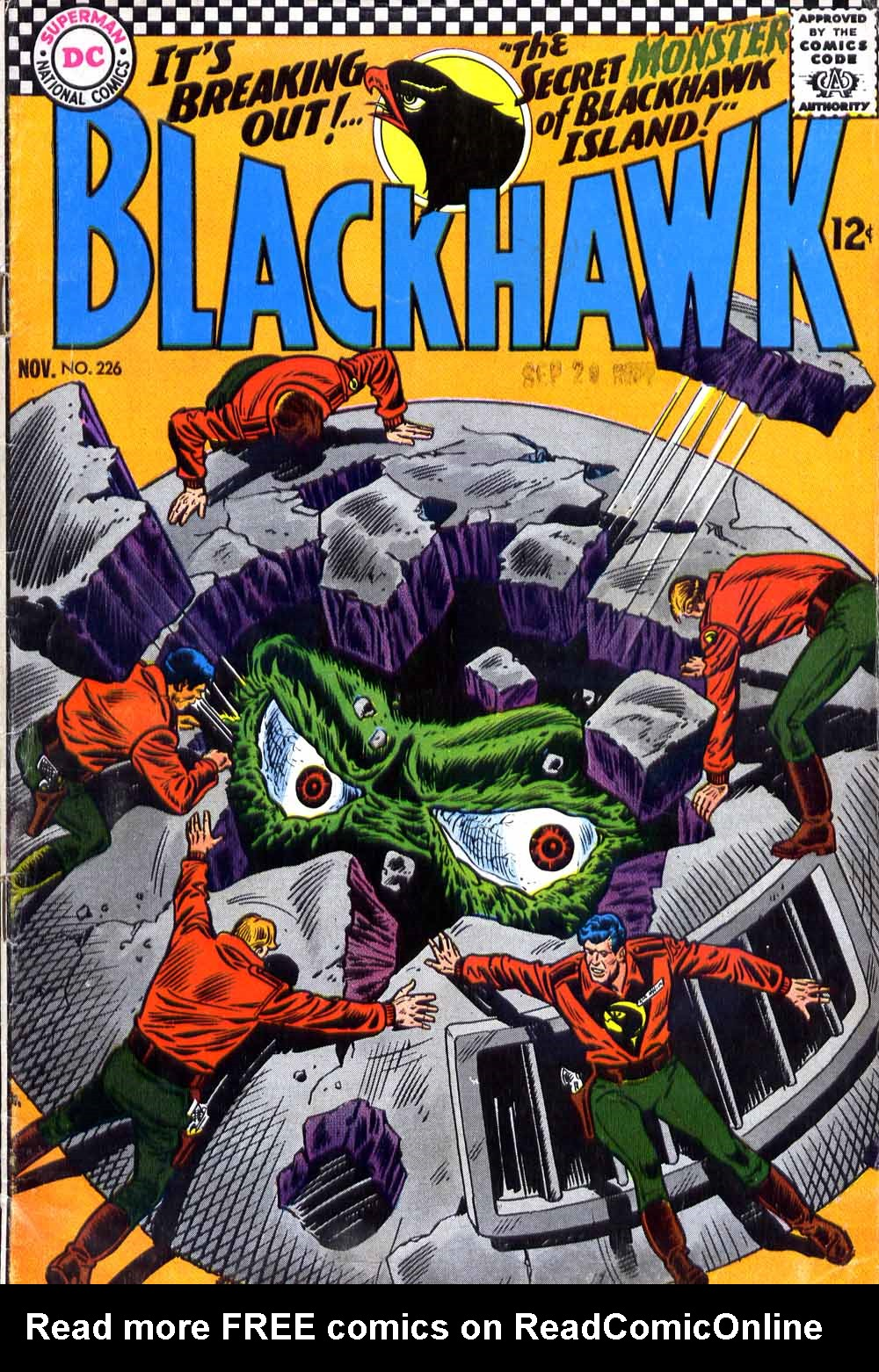 Blackhawk (1957) 226 Page 1