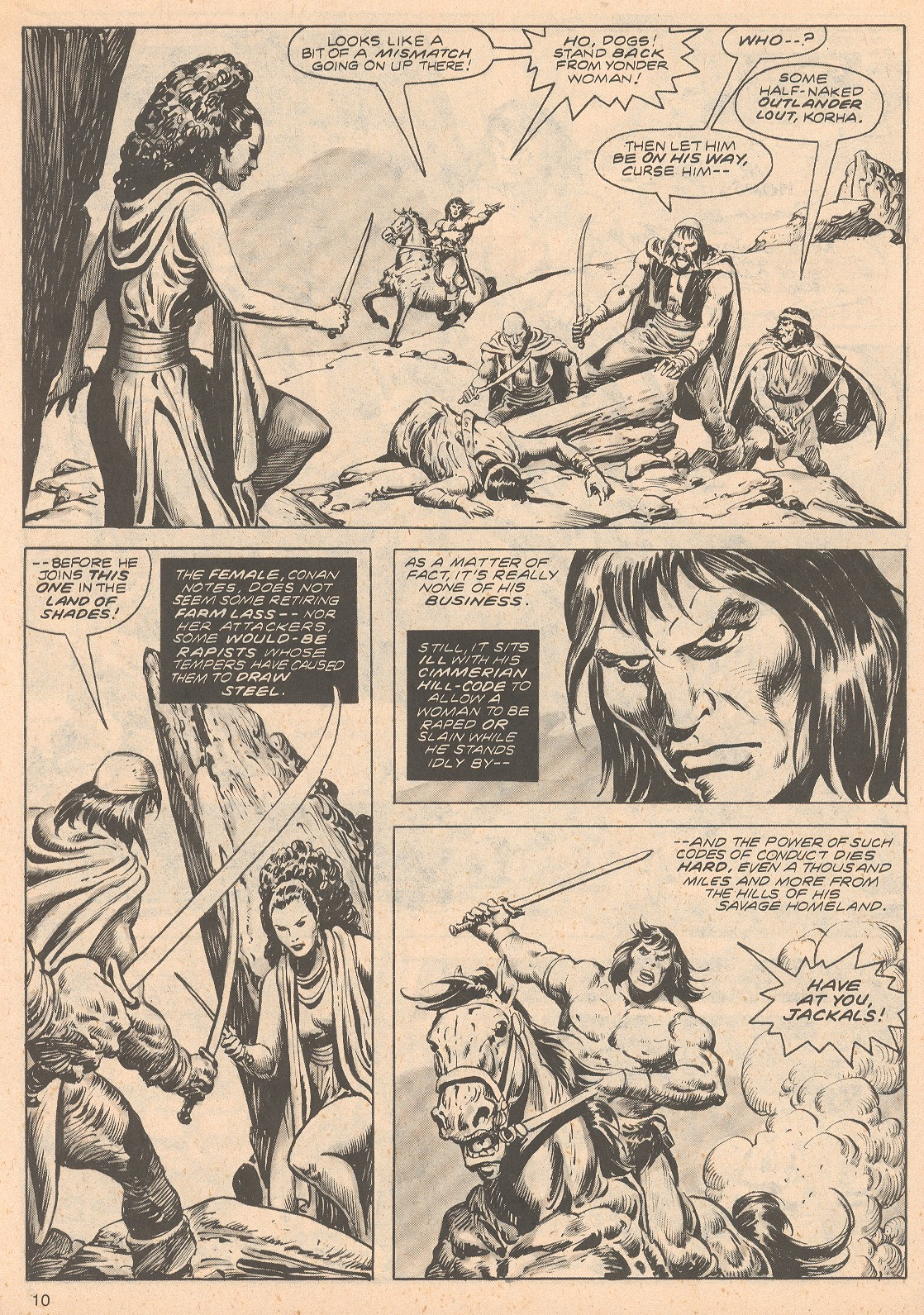 The Savage Sword Of Conan Issue #68 #69 - English 10
