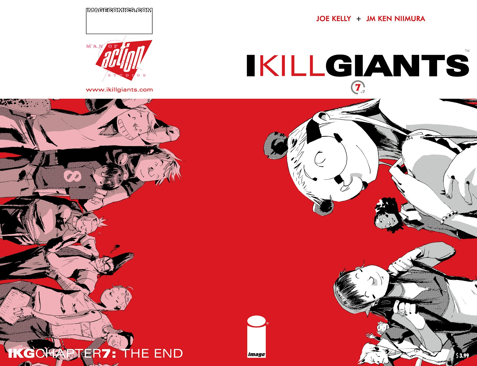 I Kill Giants issue 7 - Page 1