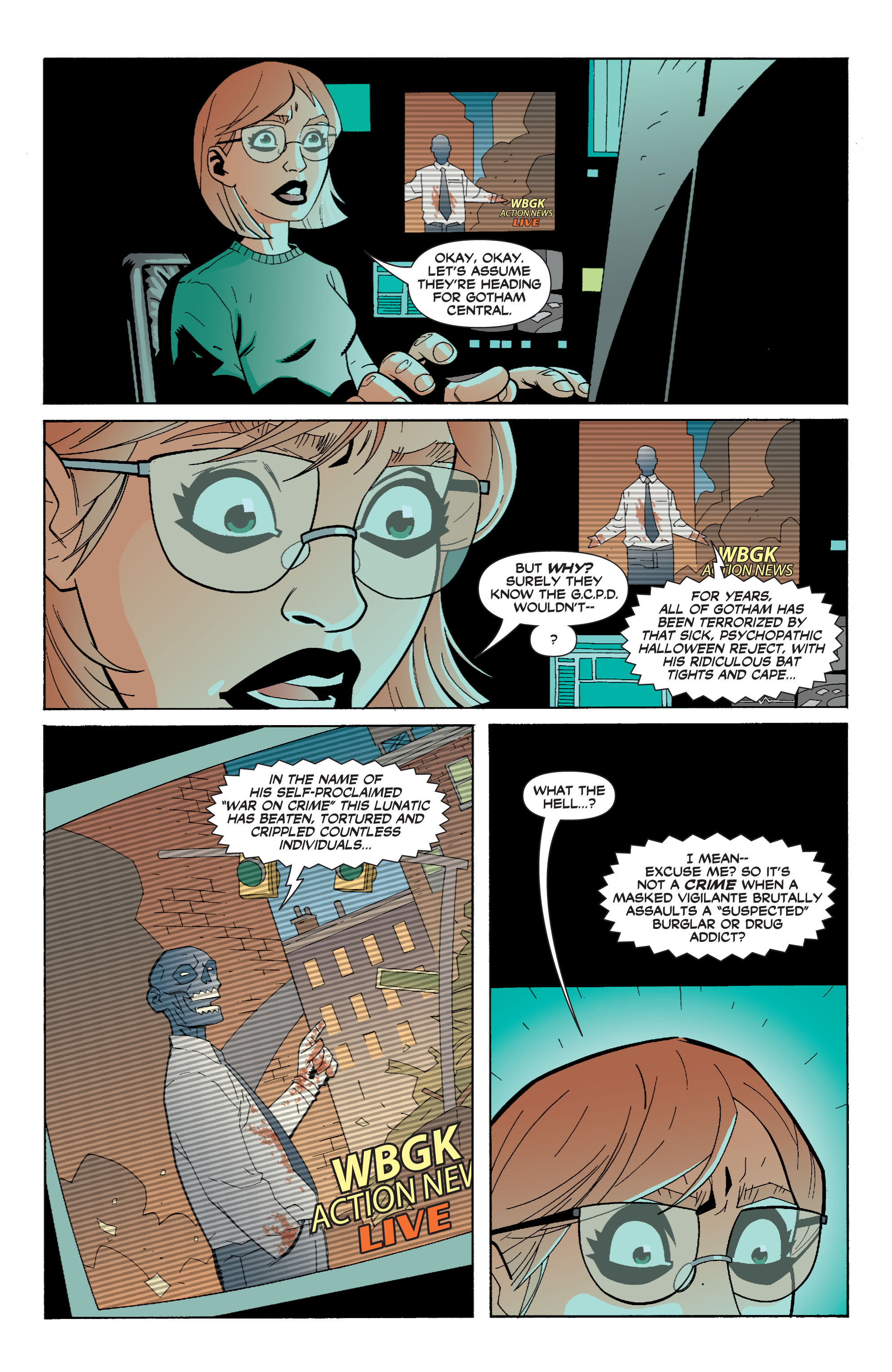 Read online Batman: War Games comic -  Issue #6 - 20