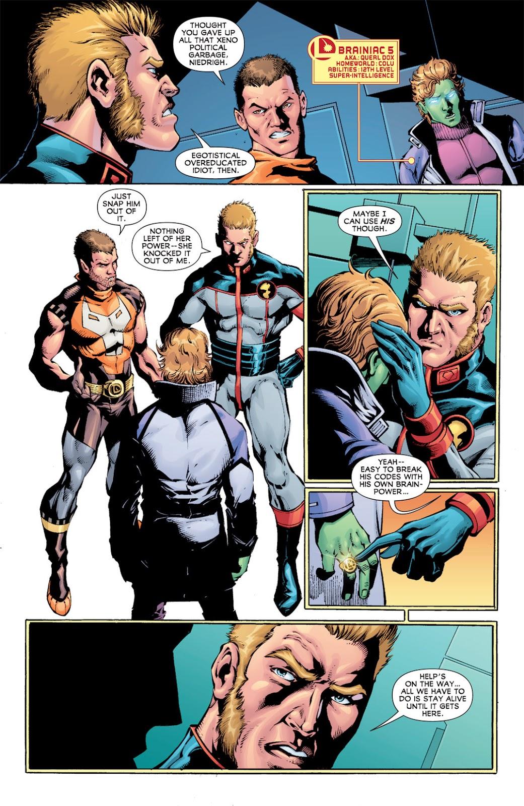 Legion of Super-Heroes (2010) Issue #13 #14 - English 5