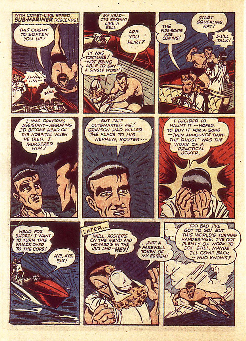 Sub-Mariner Comics Issue #4 #4 - English 23