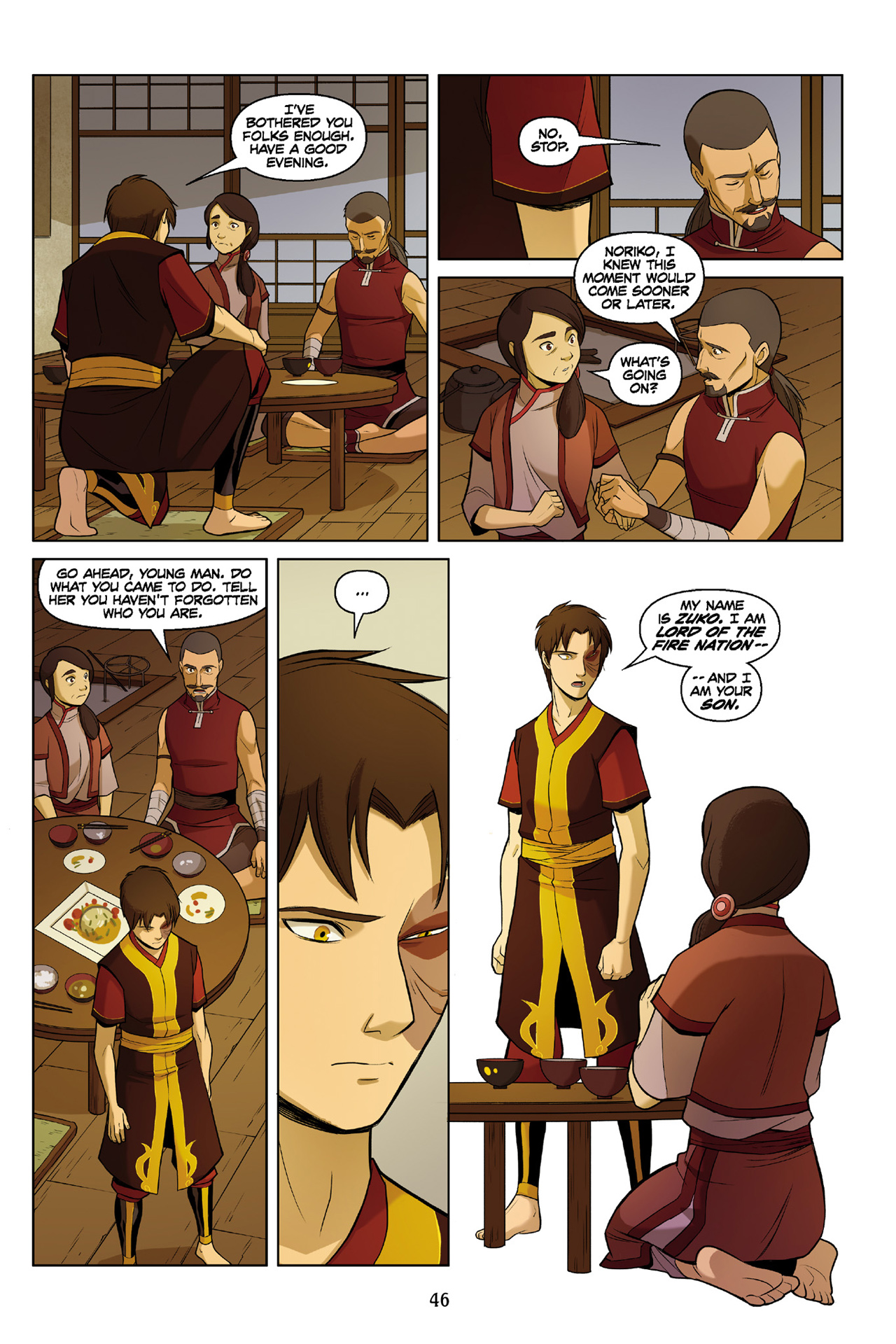 Read online Nickelodeon Avatar: The Last Airbender - The Search comic -  Issue # Part 3 - 47