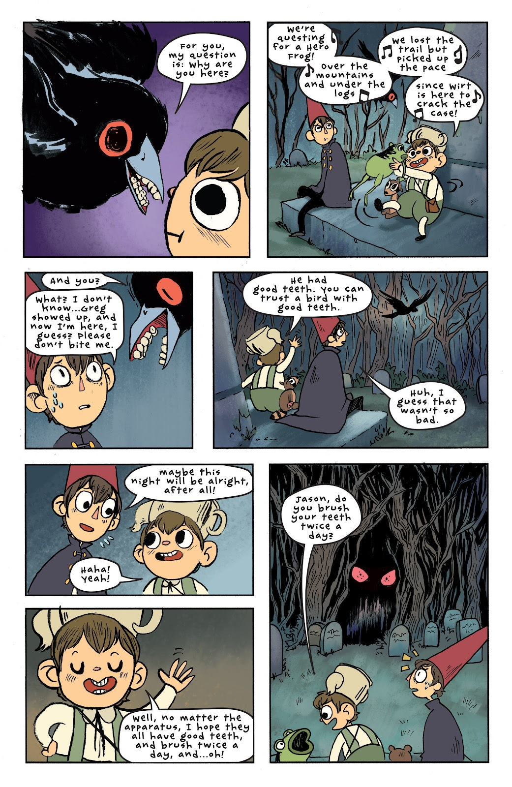Over the Garden Wall (2016) Issue #6 #6 - English 18