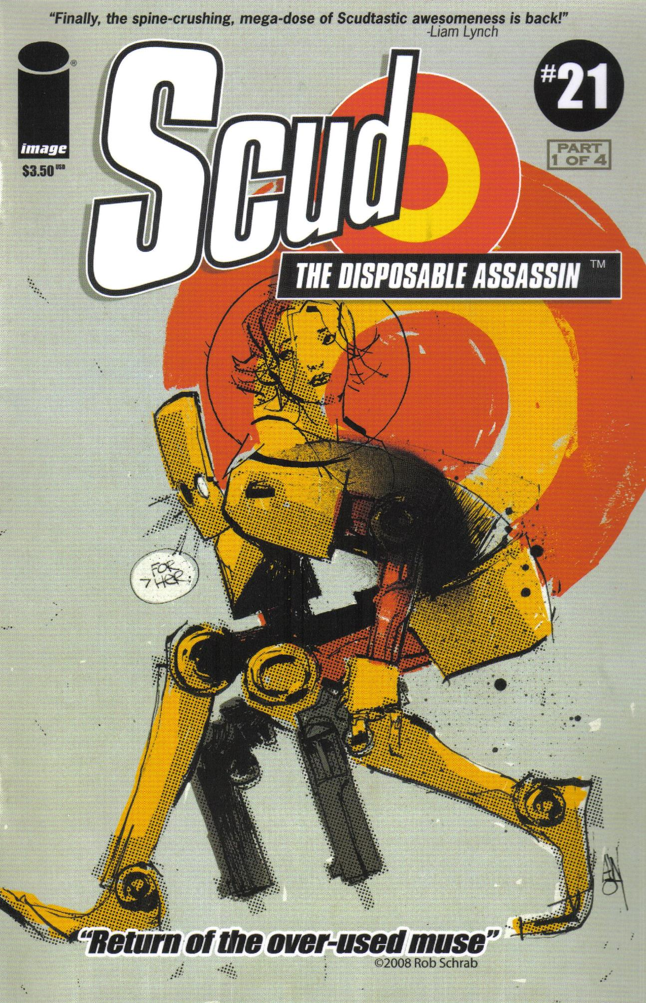 Read online Scud: The Disposable Assassin (2008) comic -  Issue #1 - 1