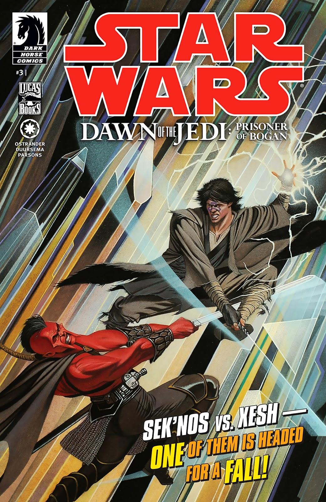 Comic Star Wars Dawn Of The Jedi Prisoner Of Bogan Issue 3