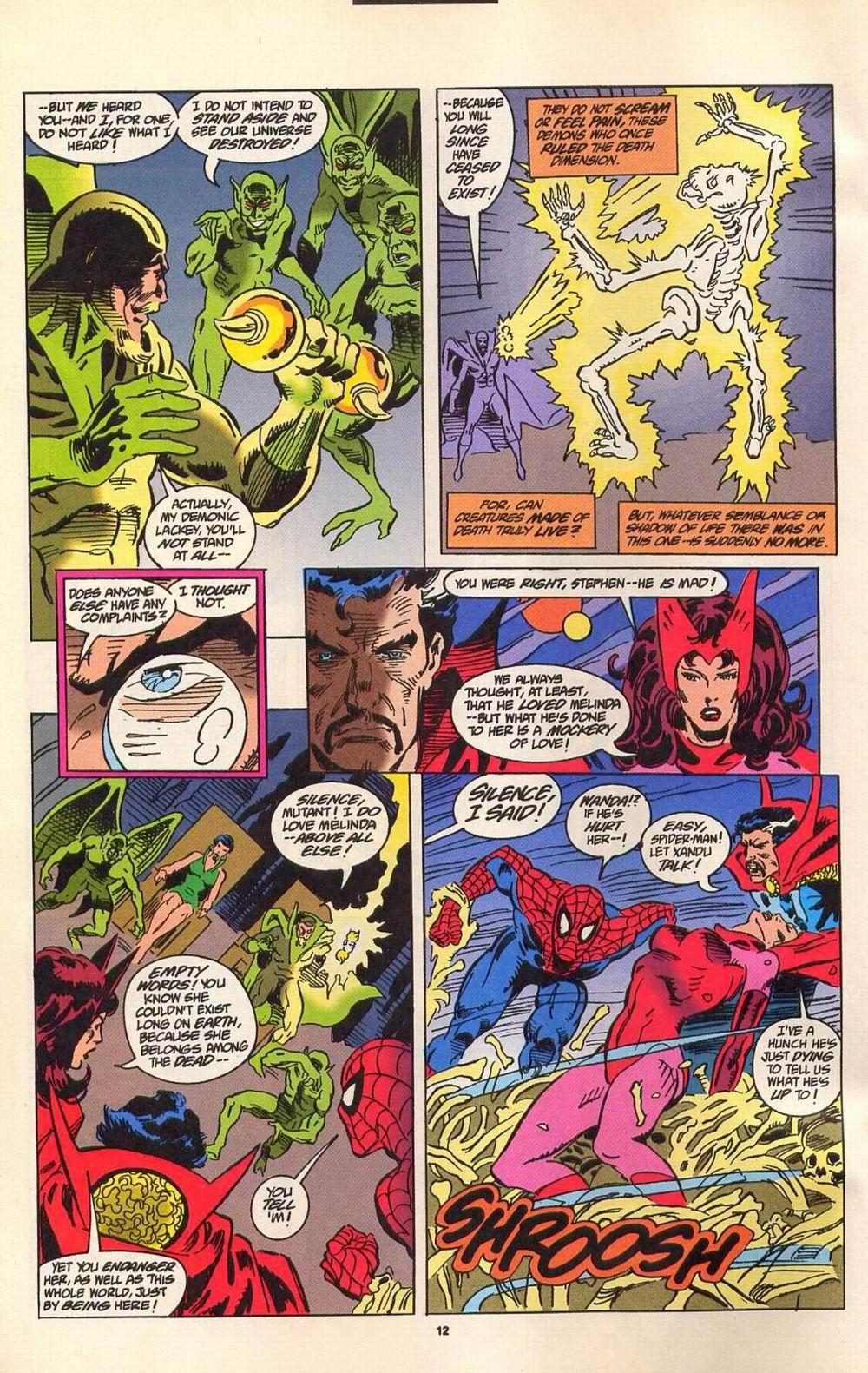Read online Secret Defenders comic -  Issue #7 - 7